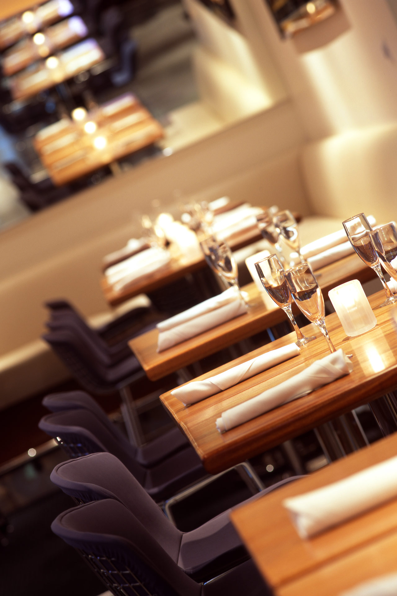 RM Seafood restaurant interiors