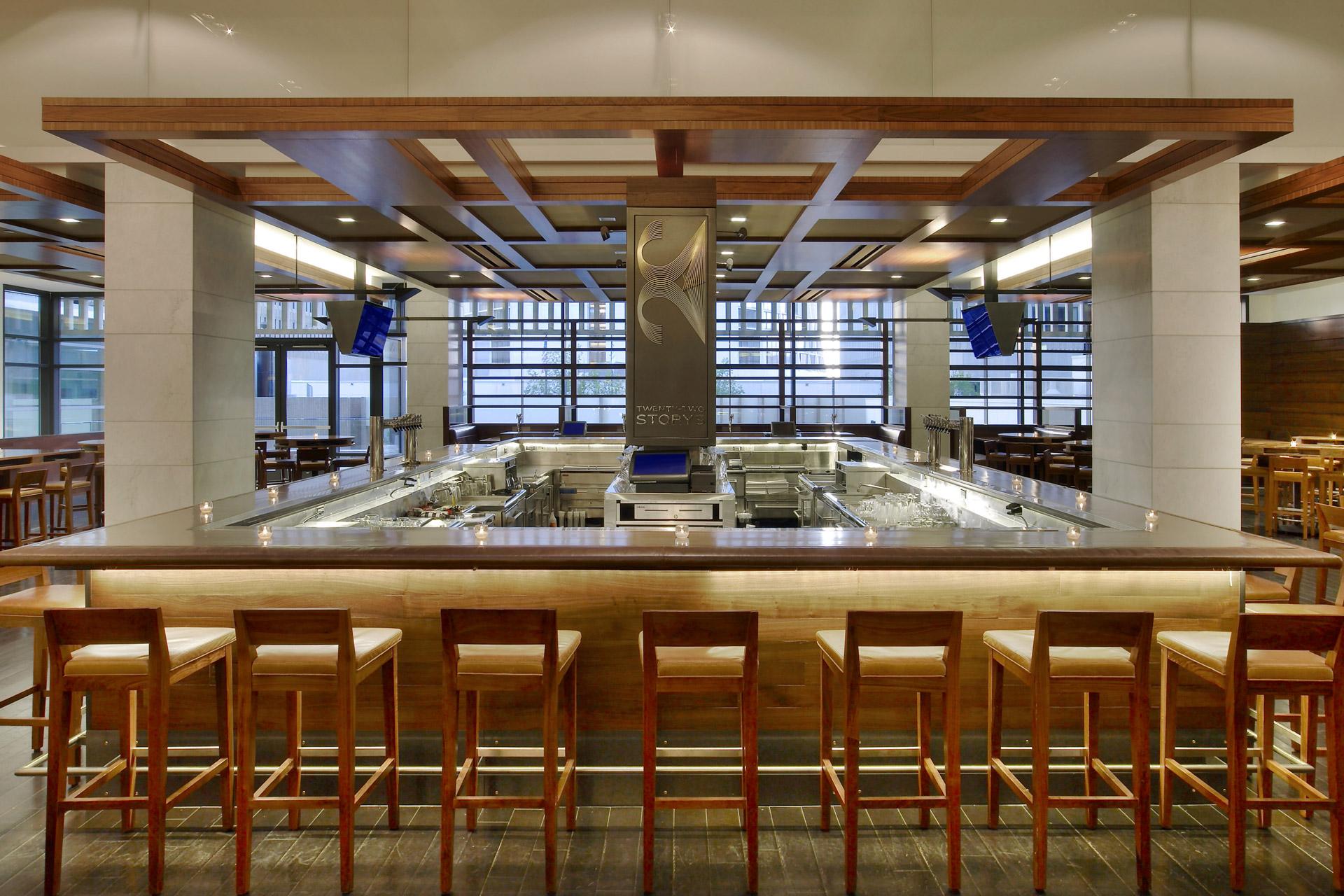 Twenty Two Storys & Market restaurant design