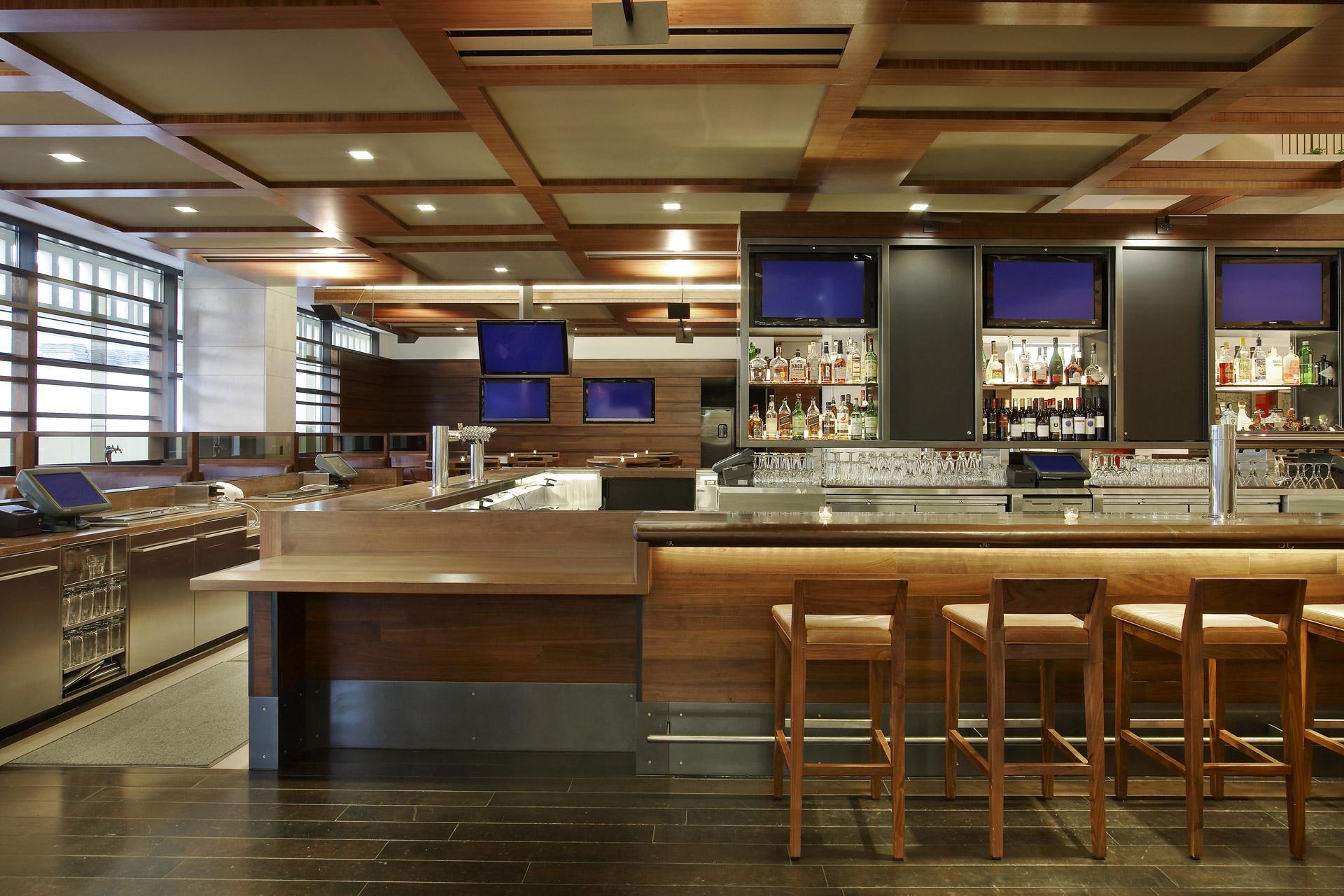 Twenty Two Storys & Market restaurant decor