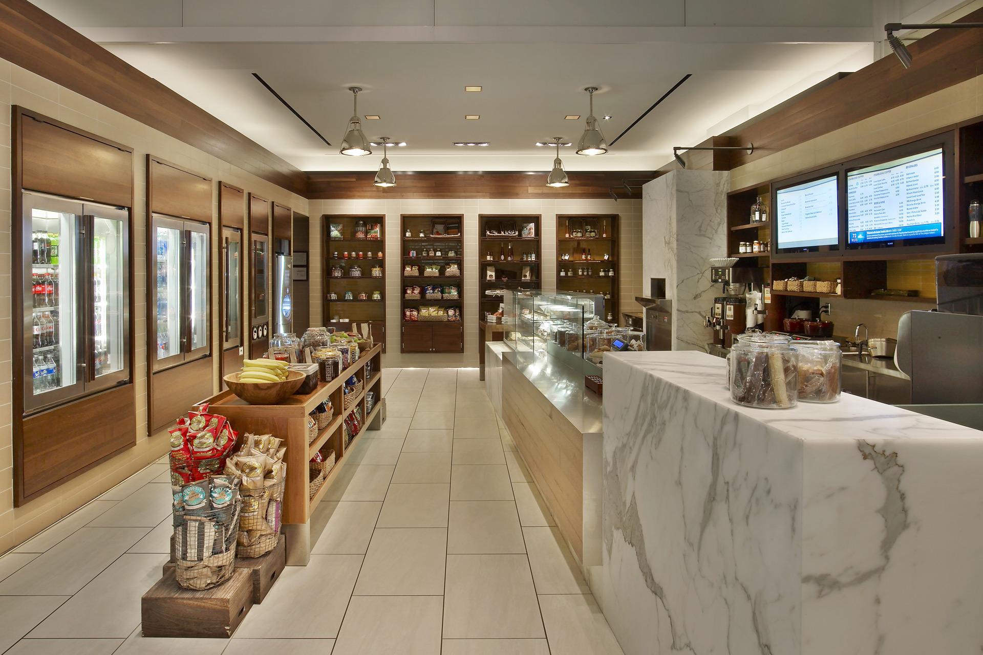 Twenty Two Storys & Market restaurant interiors