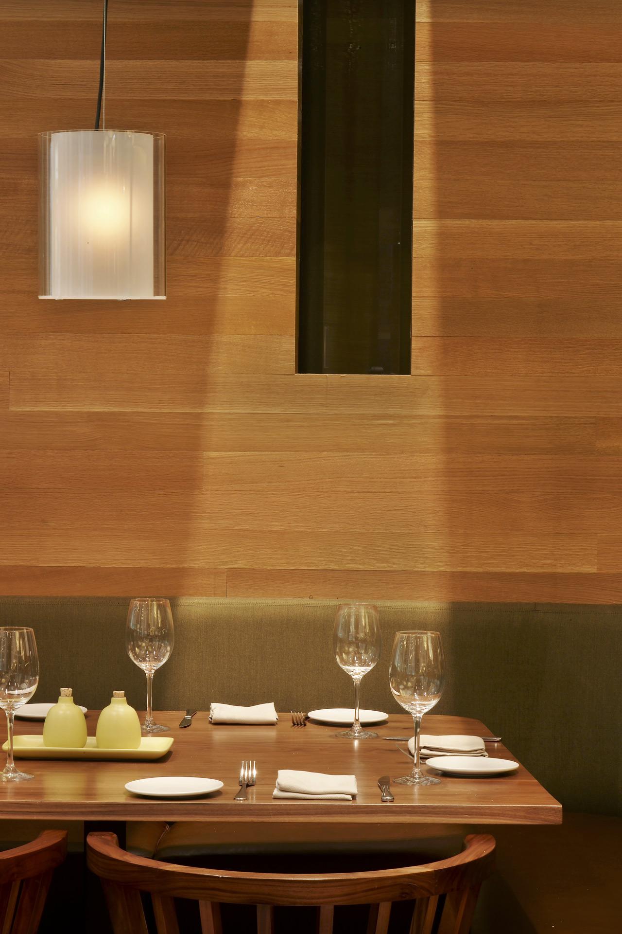 Sway restaurant interiors