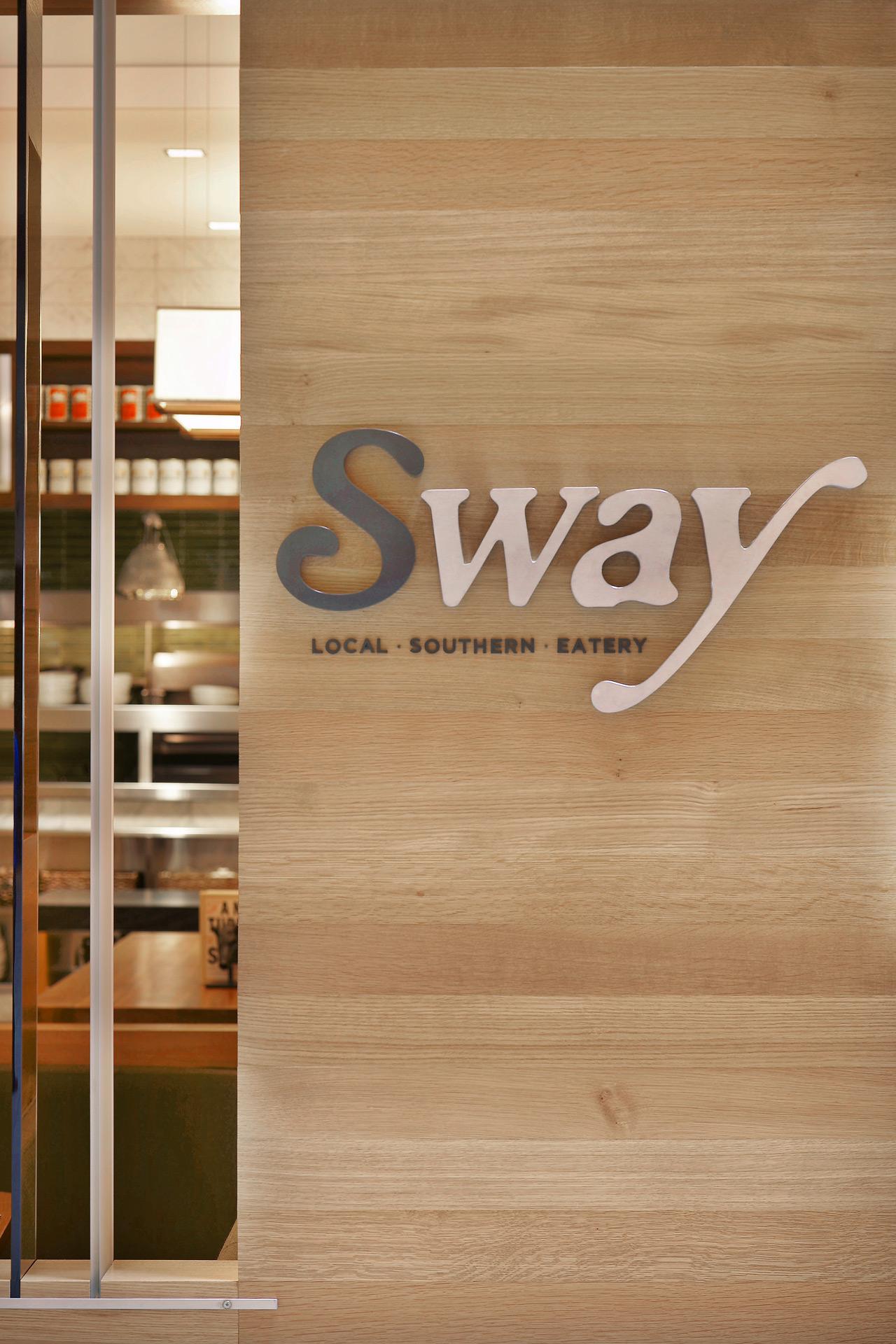 Sway restaurant design