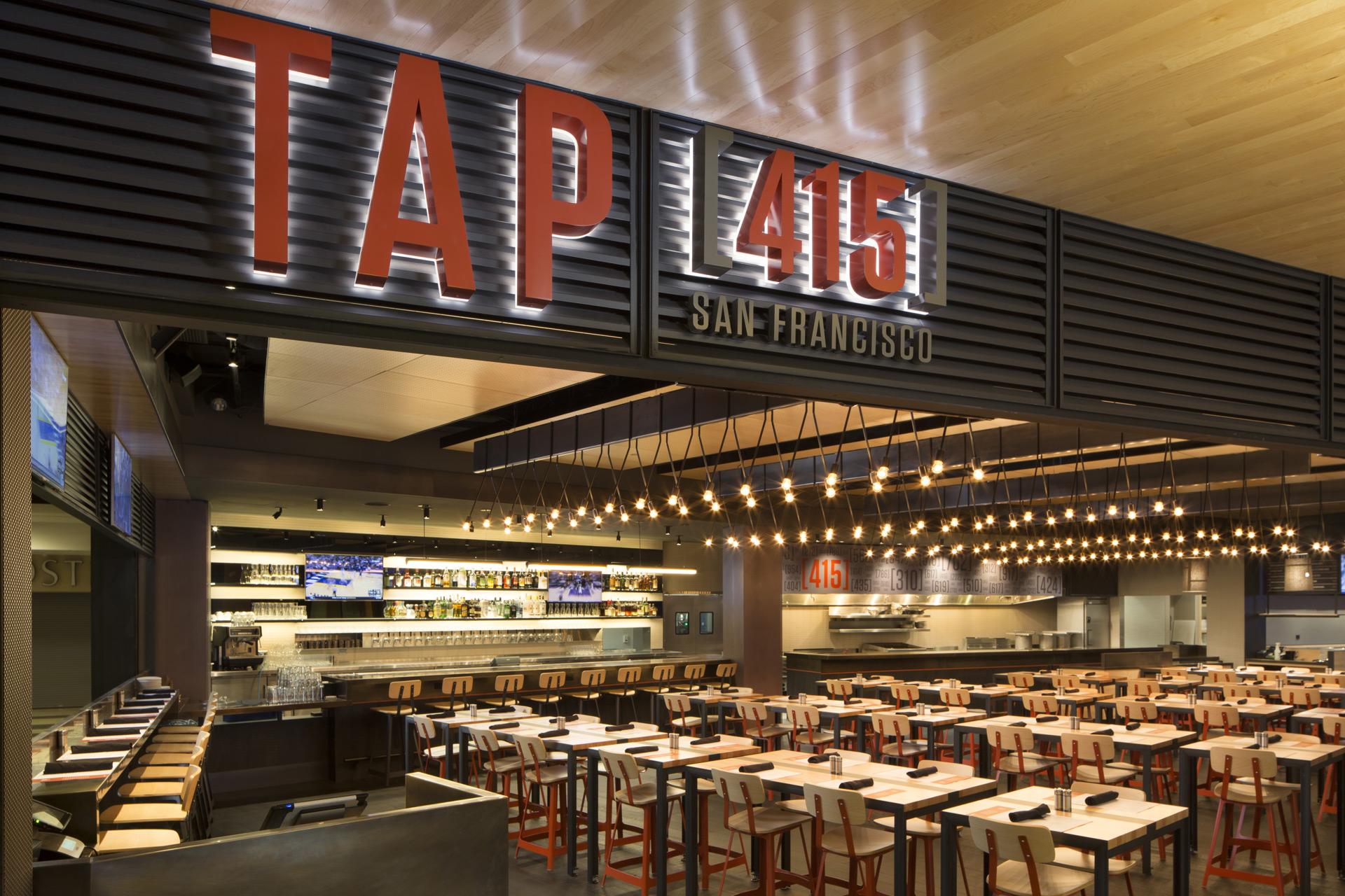 Tap(415) restaurant design