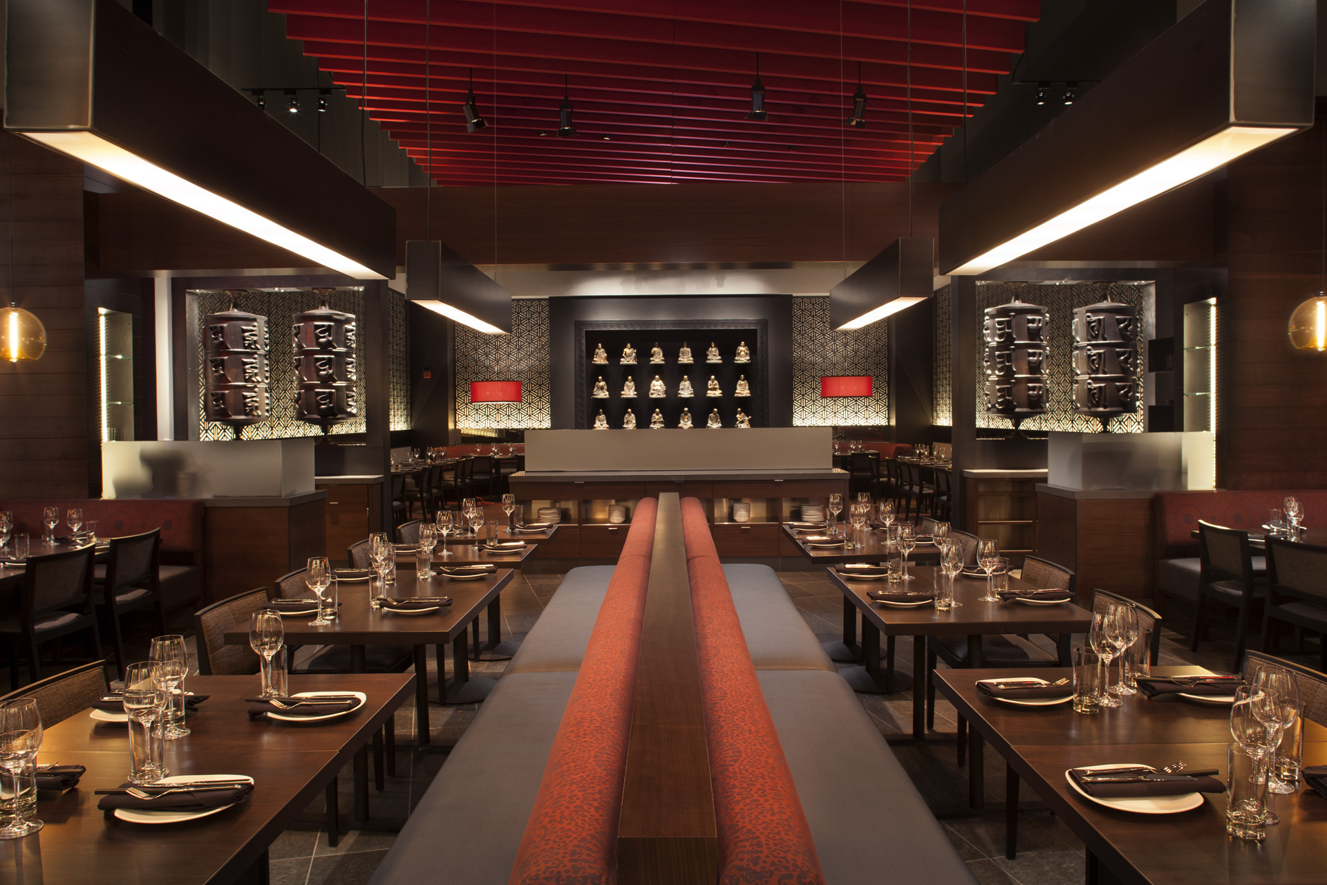 M.Y. China restaurant design