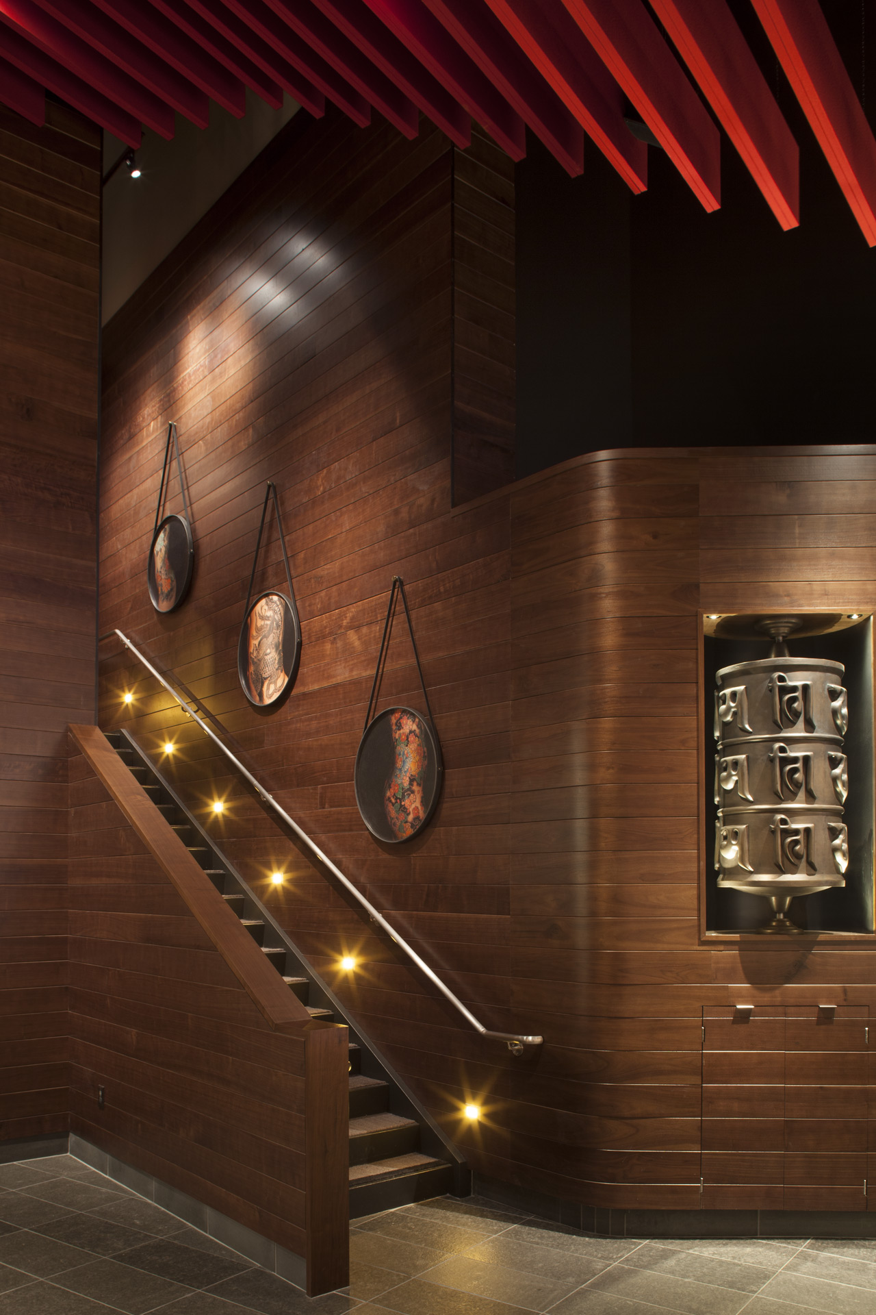 M.Y. China restaurant interior design