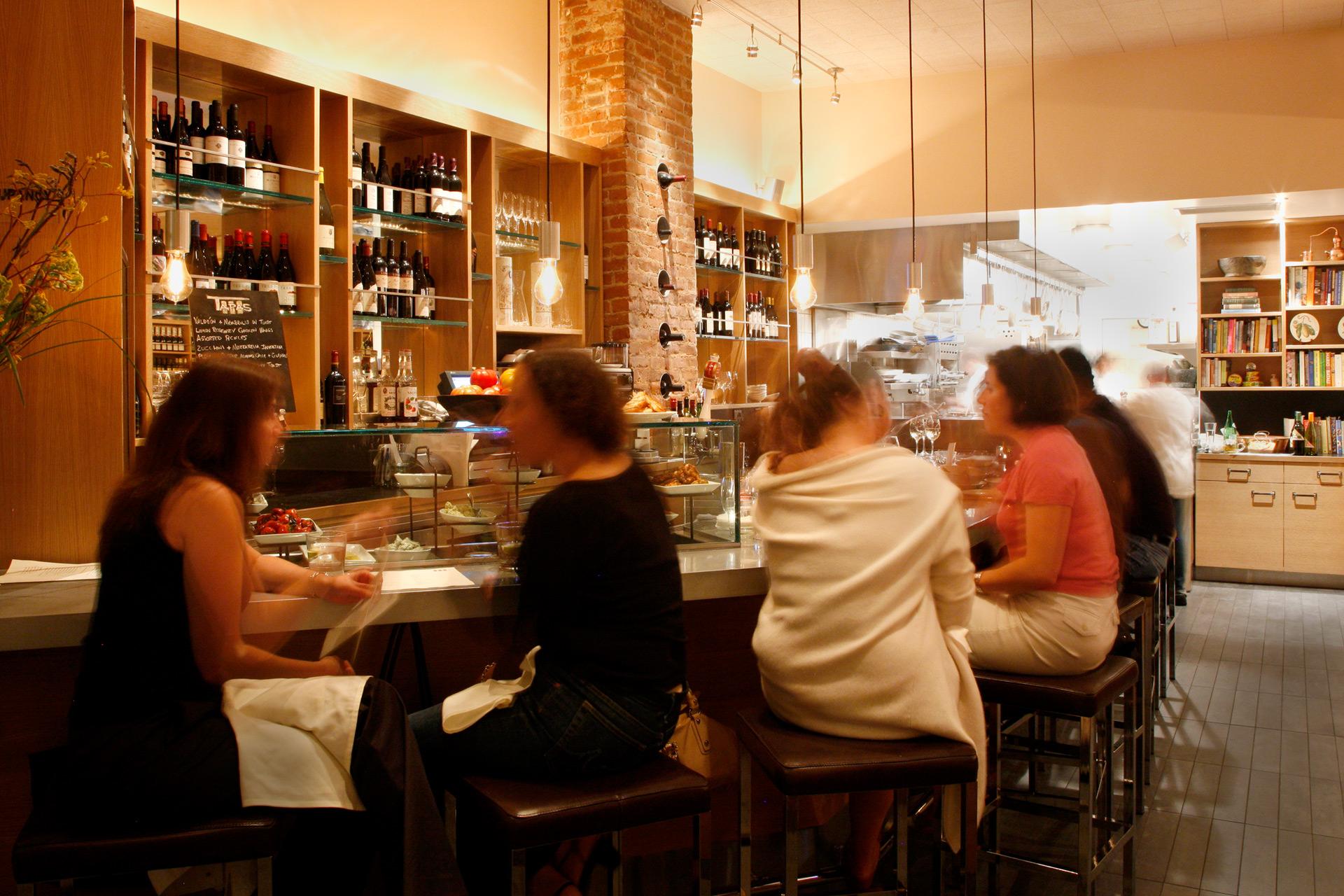 Terzo restaurant luxury design