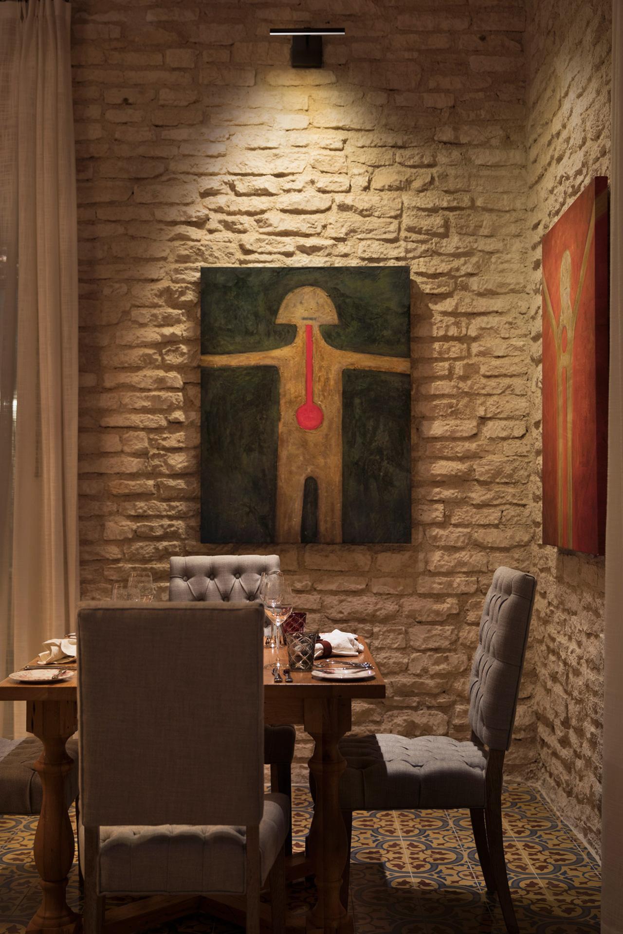 Casa Amate restaurant decor