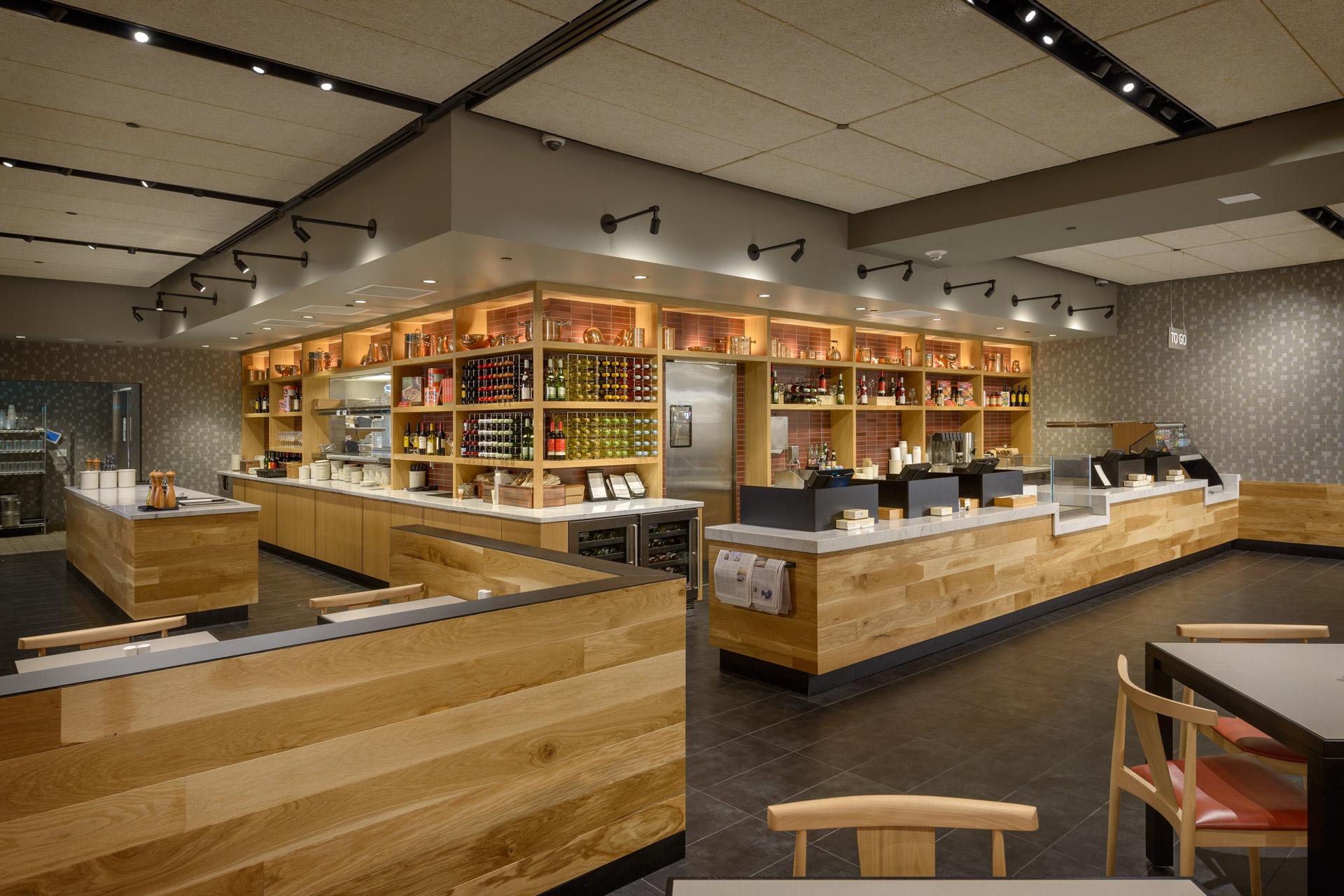 Cafe + Habitant at Nordstrom restaurant design ideas