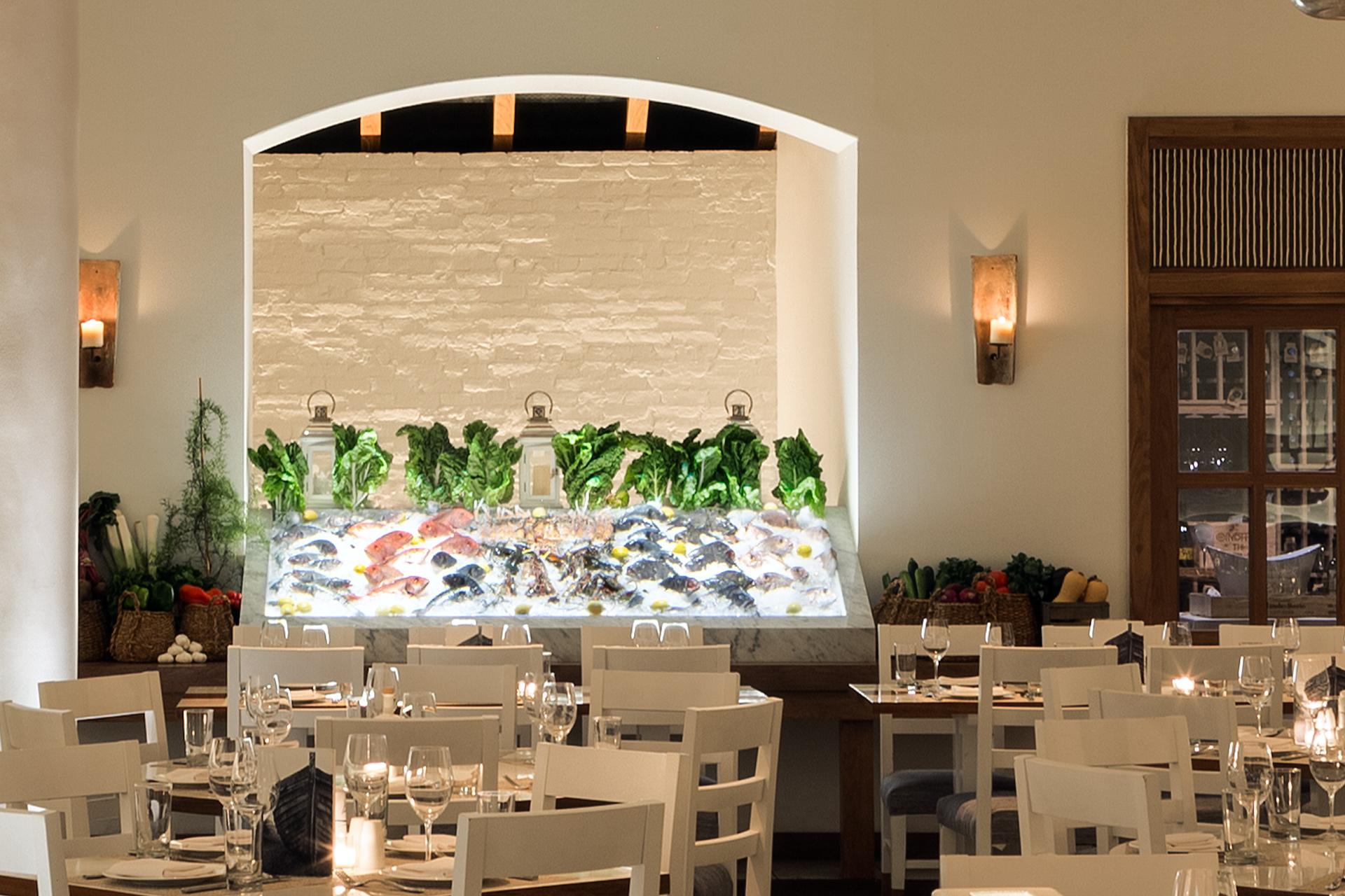 Kyma restaurant decor ideas