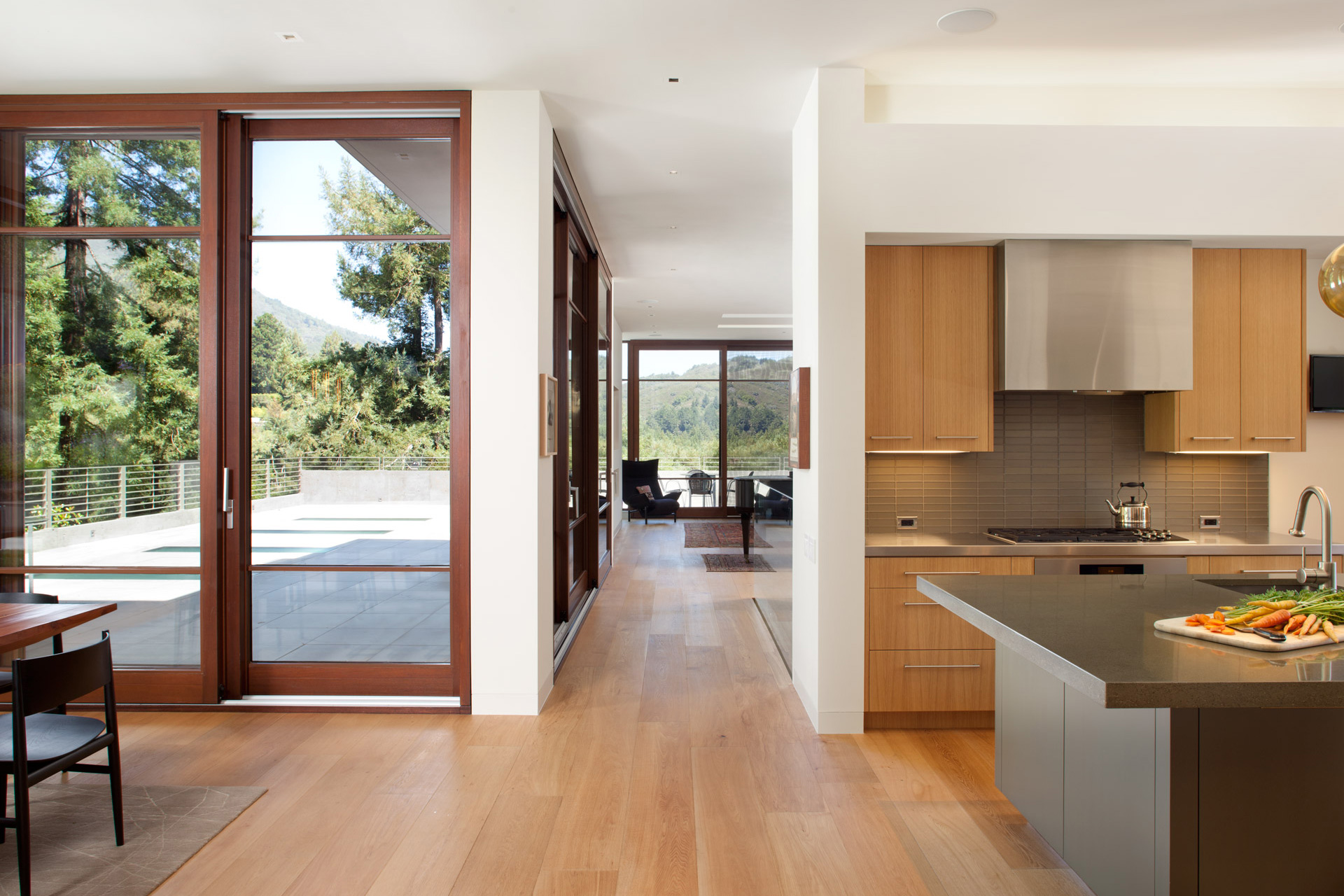 Mill Valley Residence houses
