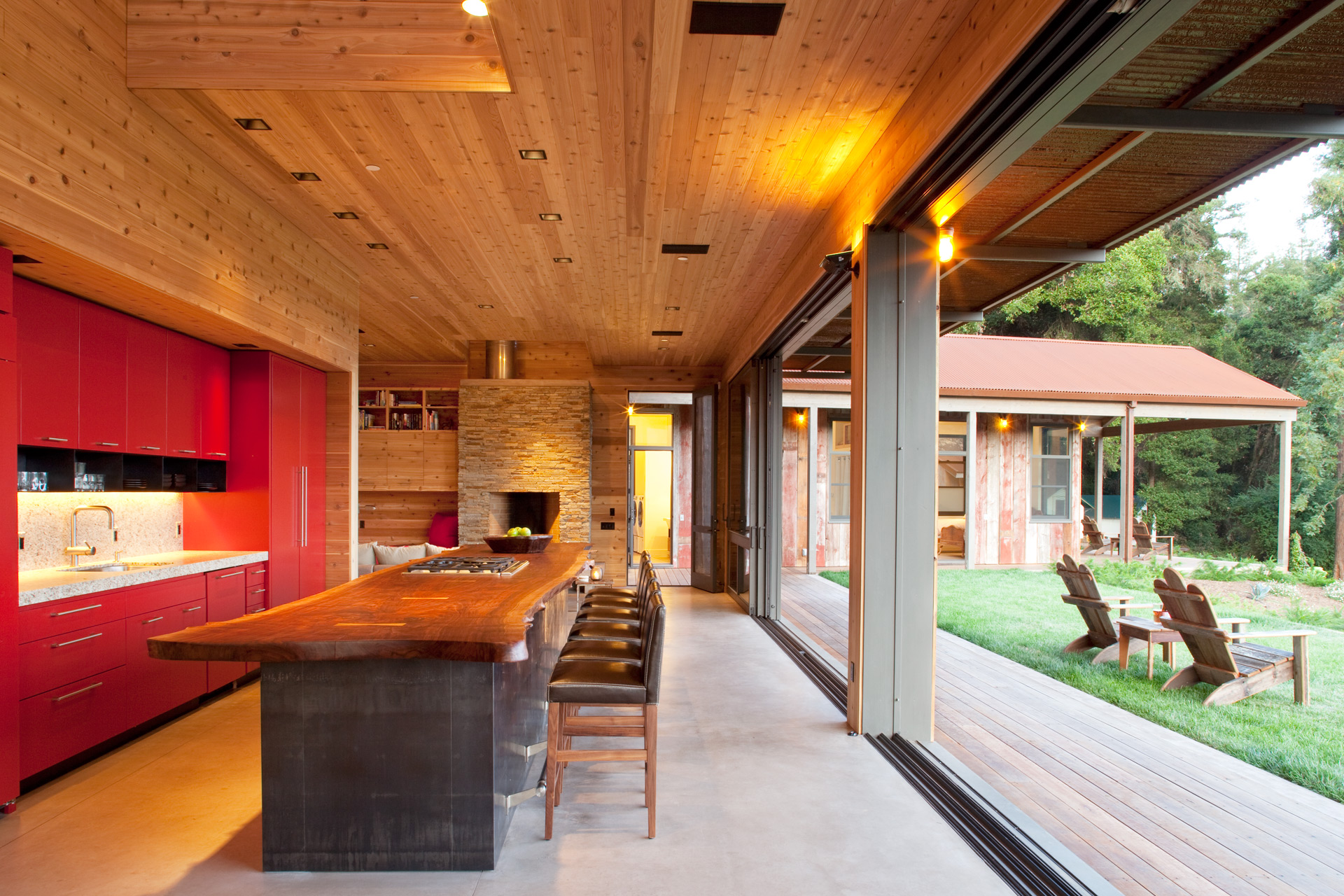 Aptos Retreat House design