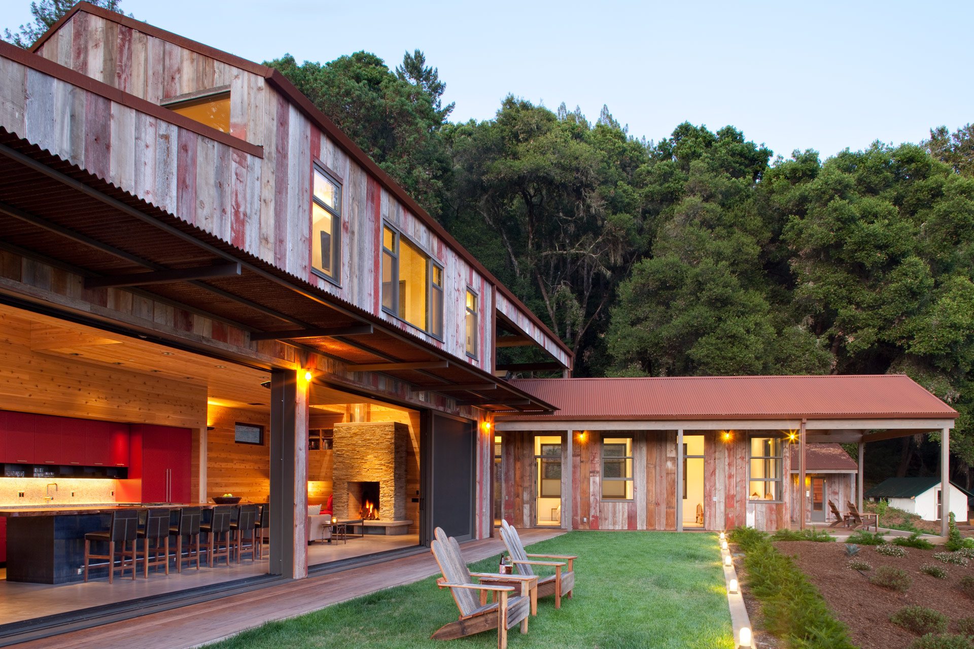 Aptos Retreat interiors design