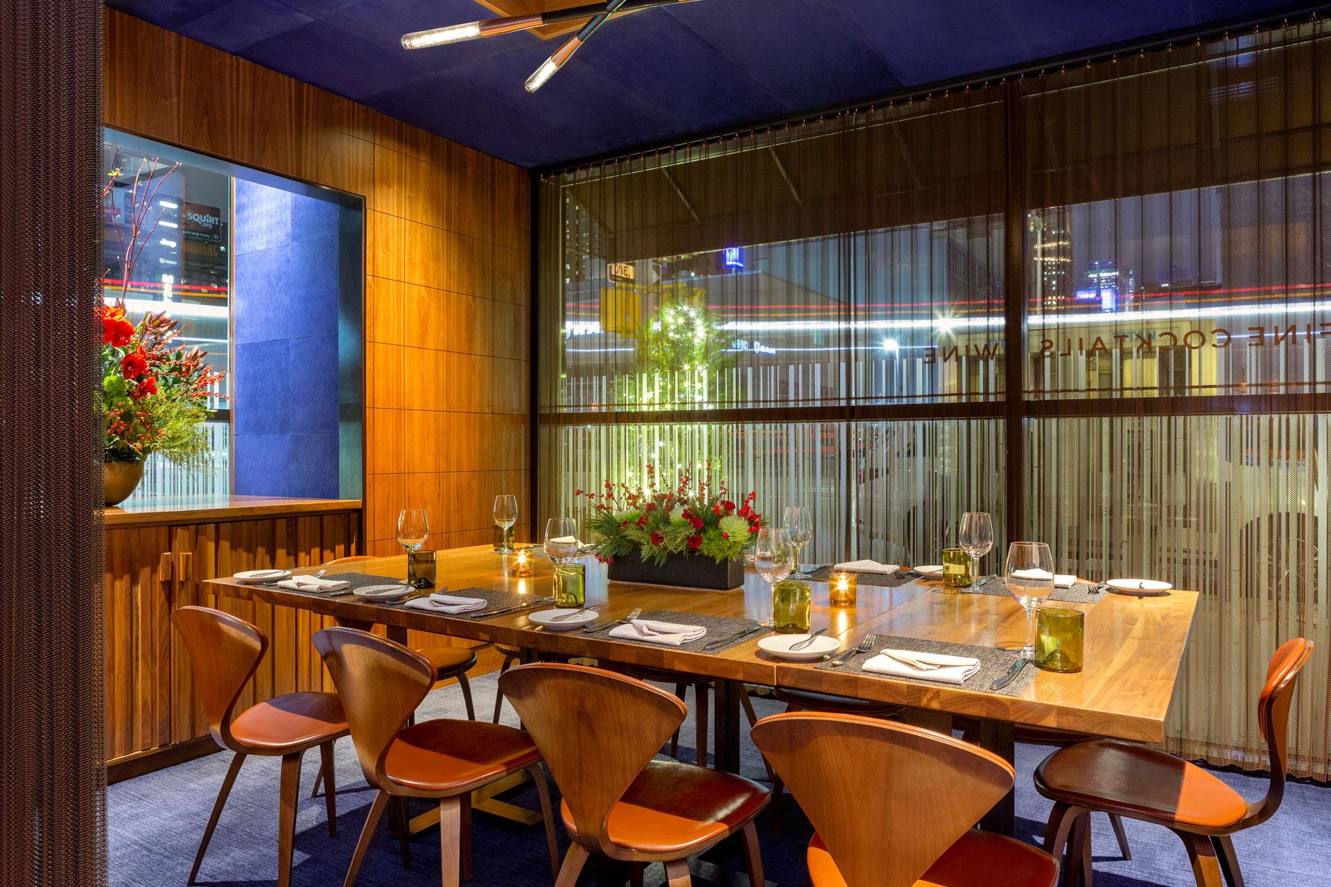 Print Lounge restaurant modern design