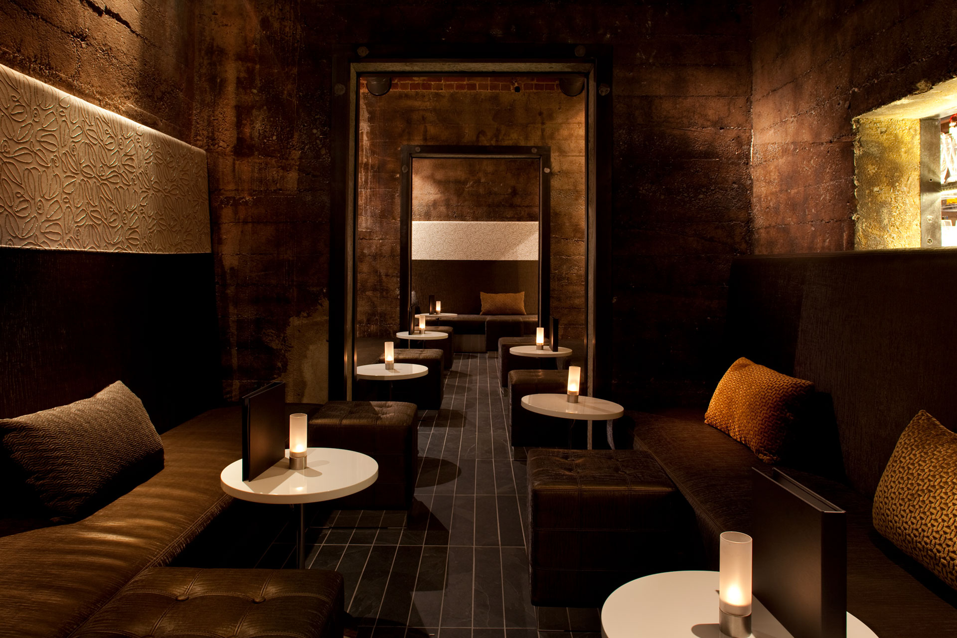 Twenty Five Lusk restaurant interiors design