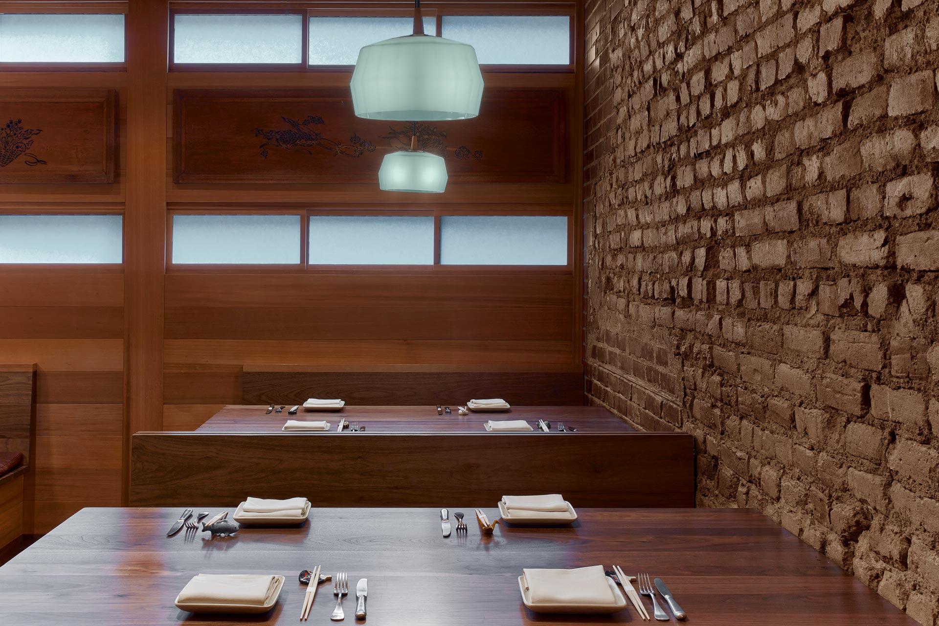 O Ya restaurant modern design