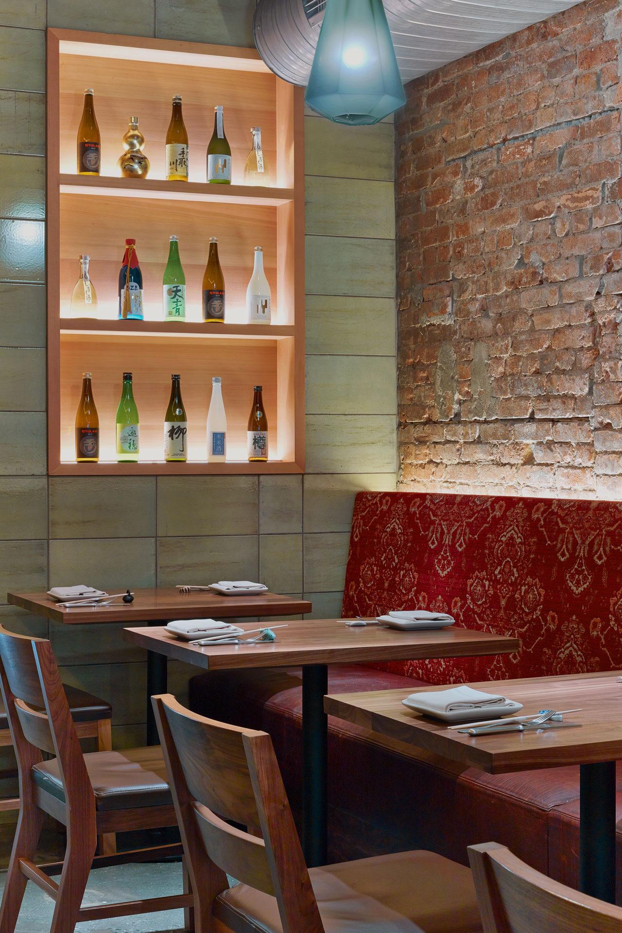 O Ya restaurant est designer