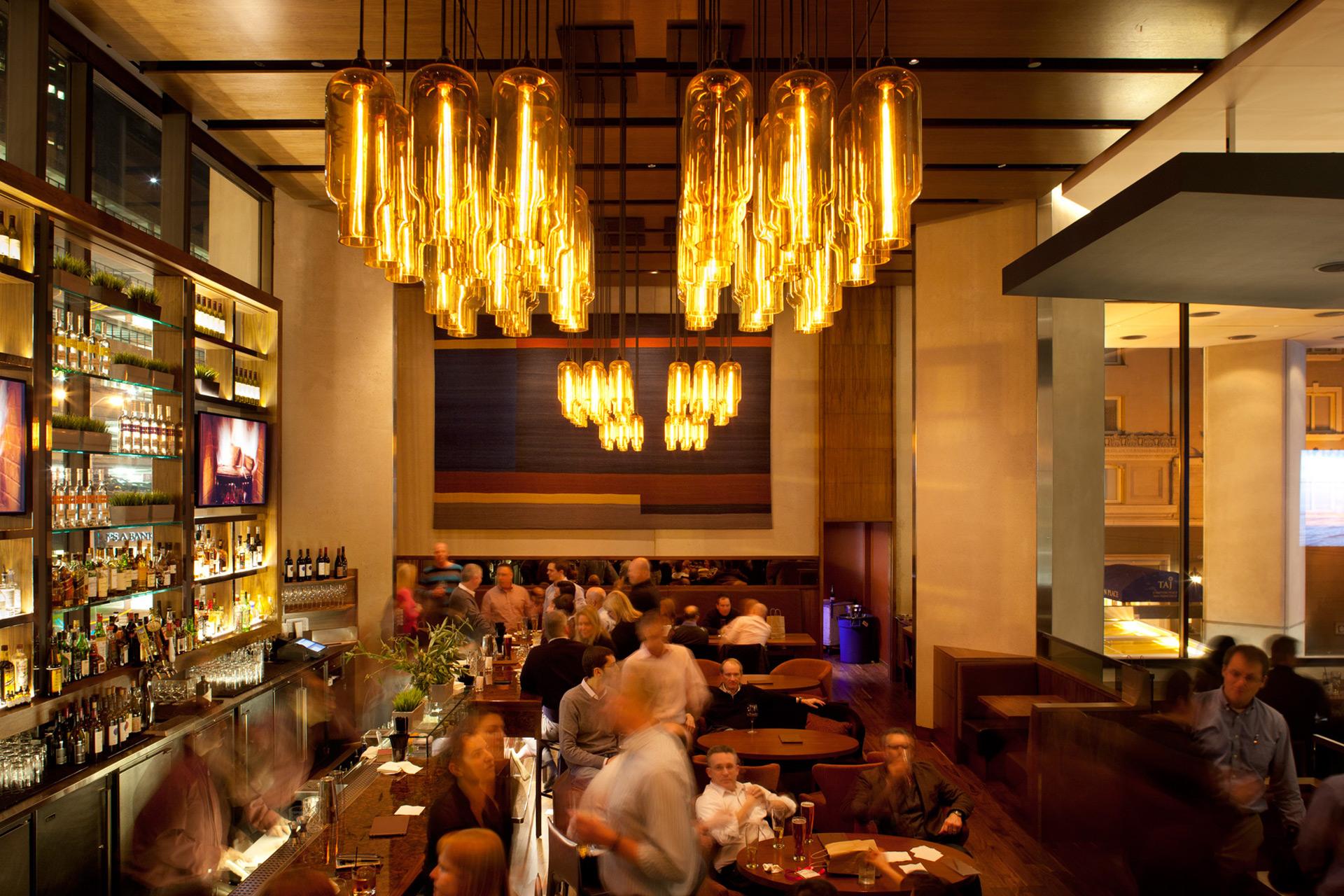 OneUp restaurant interiors