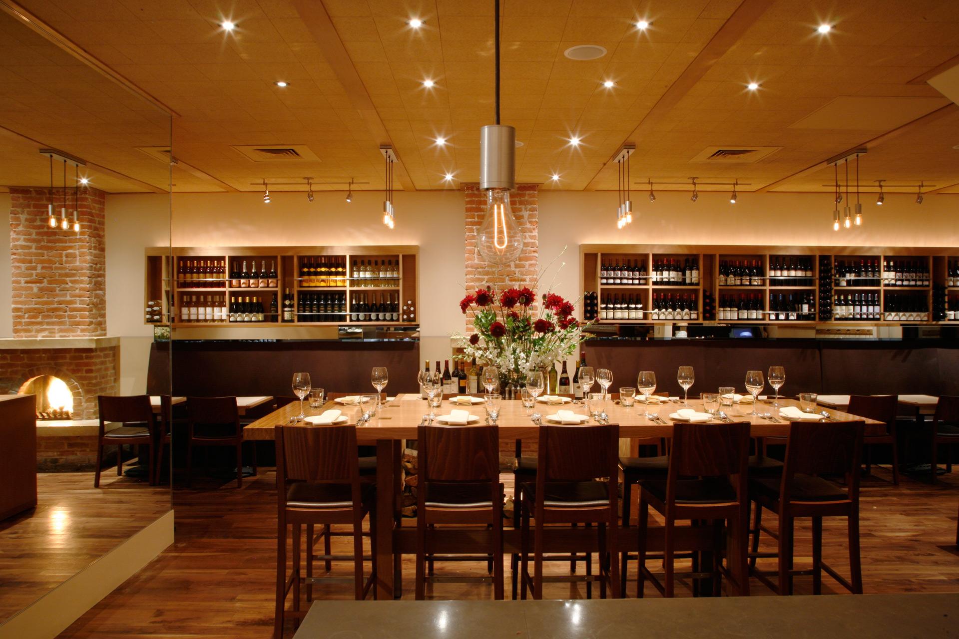 Terzo restaurant interiors