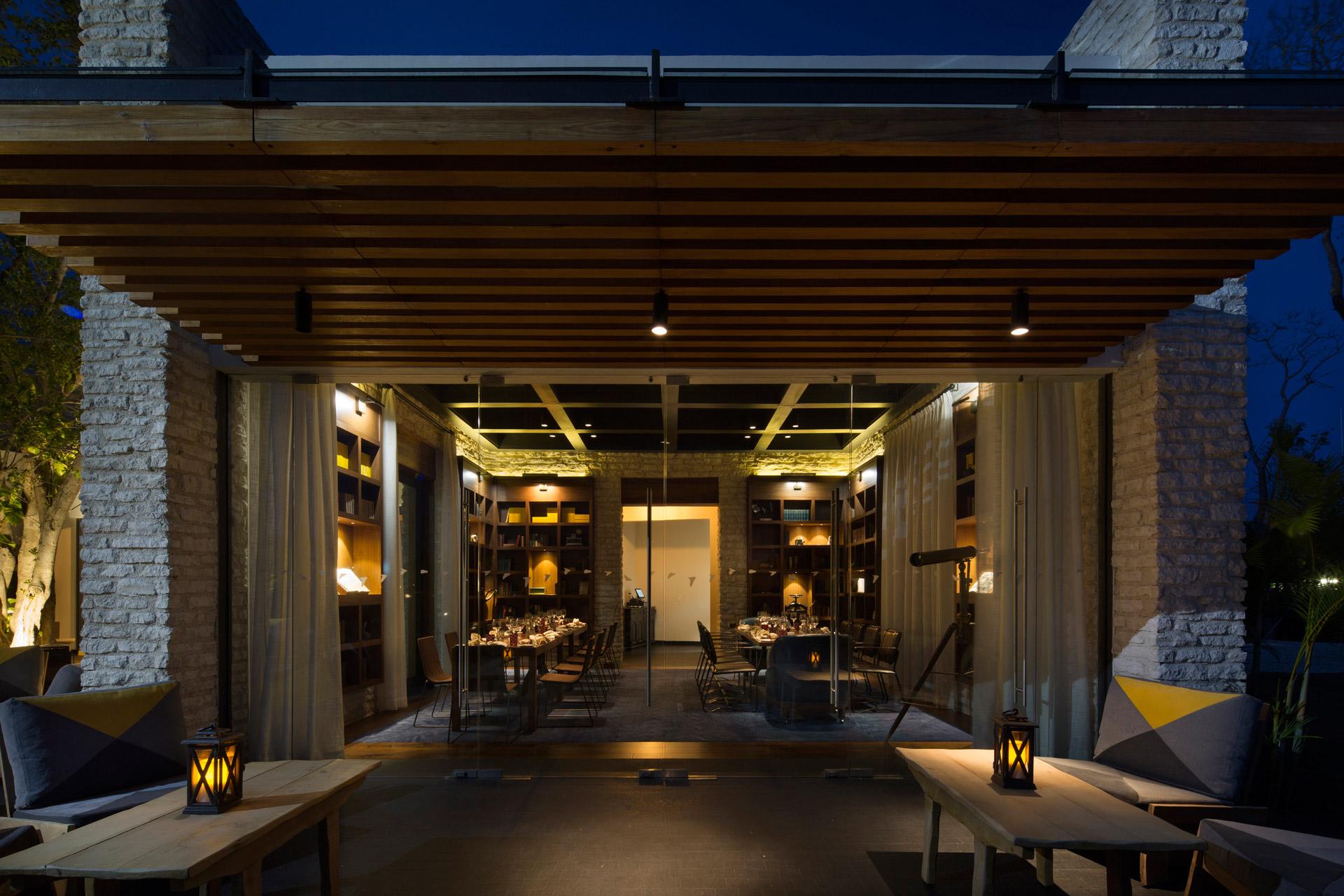 Casa Amate restaurant interiors