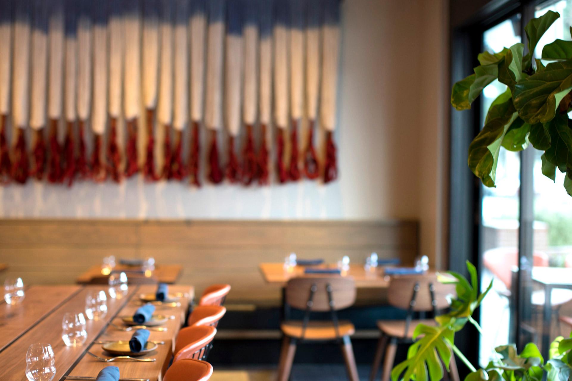 Pausa Bar & Cookery restaurant design