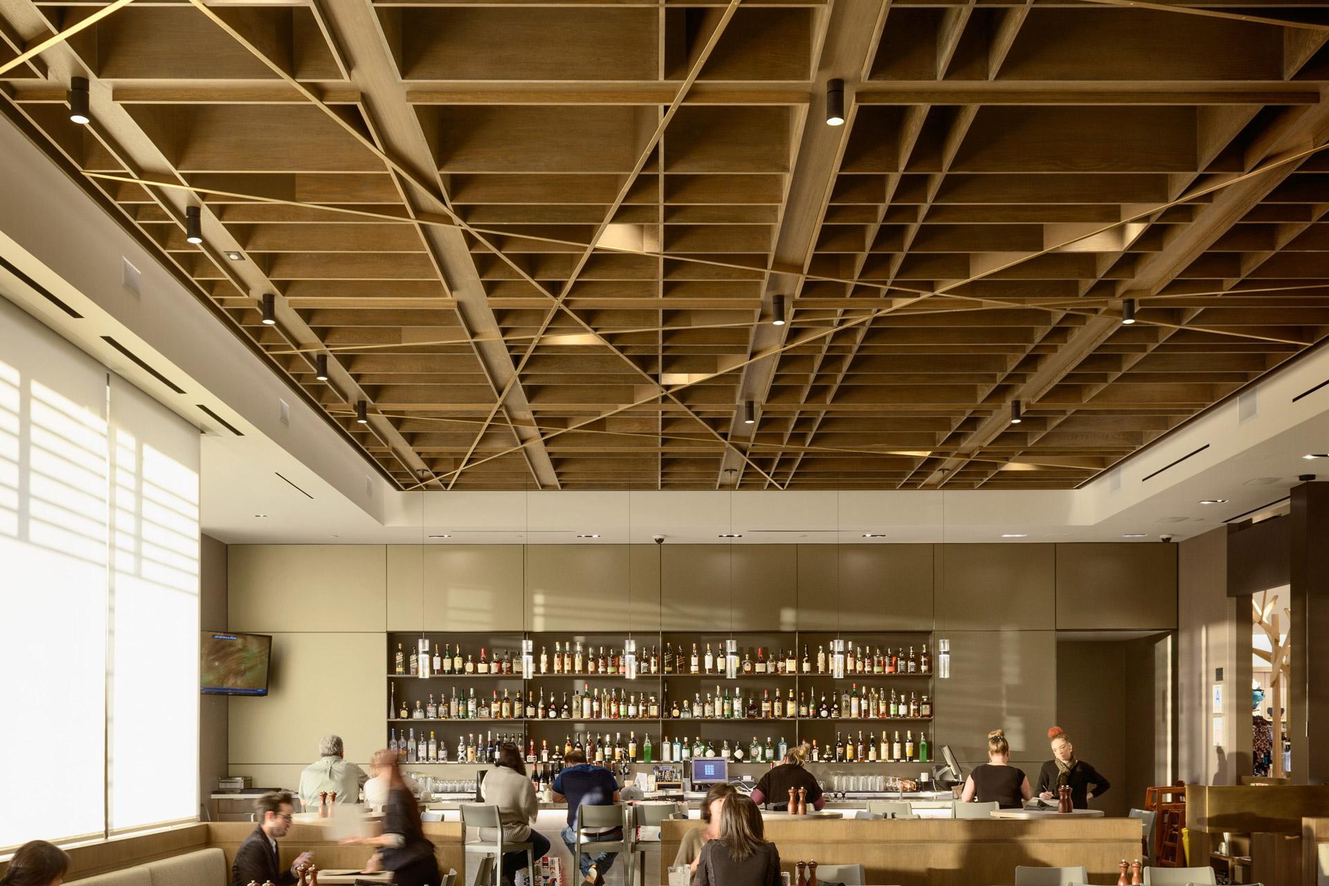 Bazille at Nordstrom del Amo restaurant design