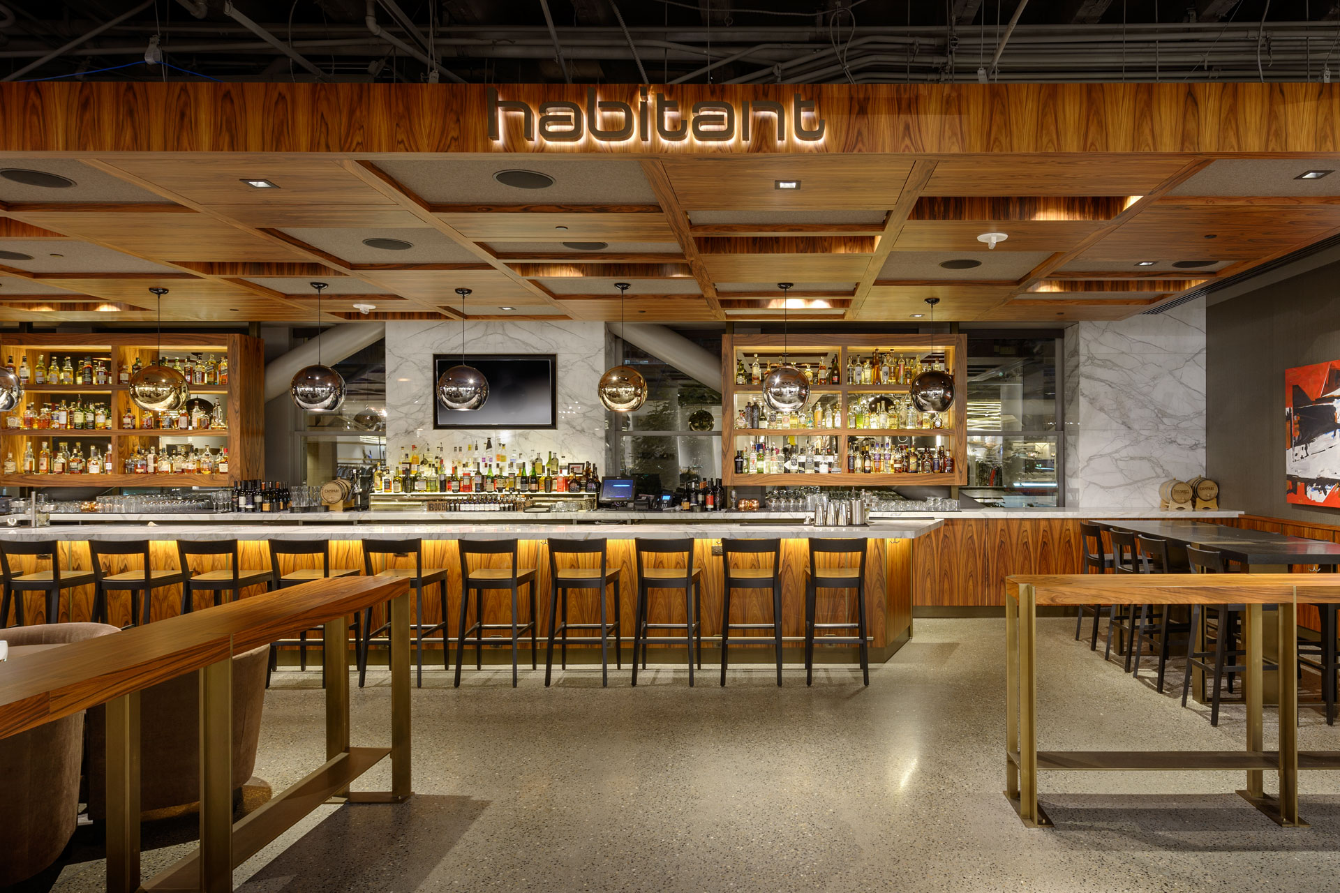 Cafe + Habitant at Nordstrom restaurant design