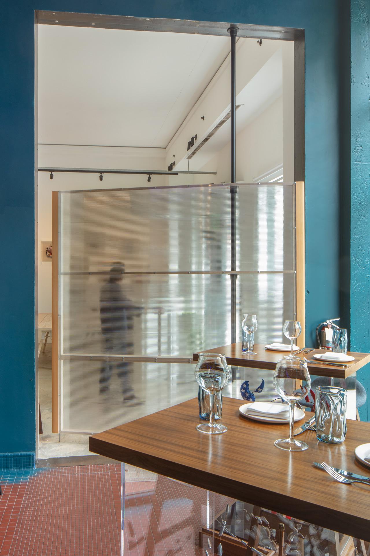 Palette Folsom restaurant modern design