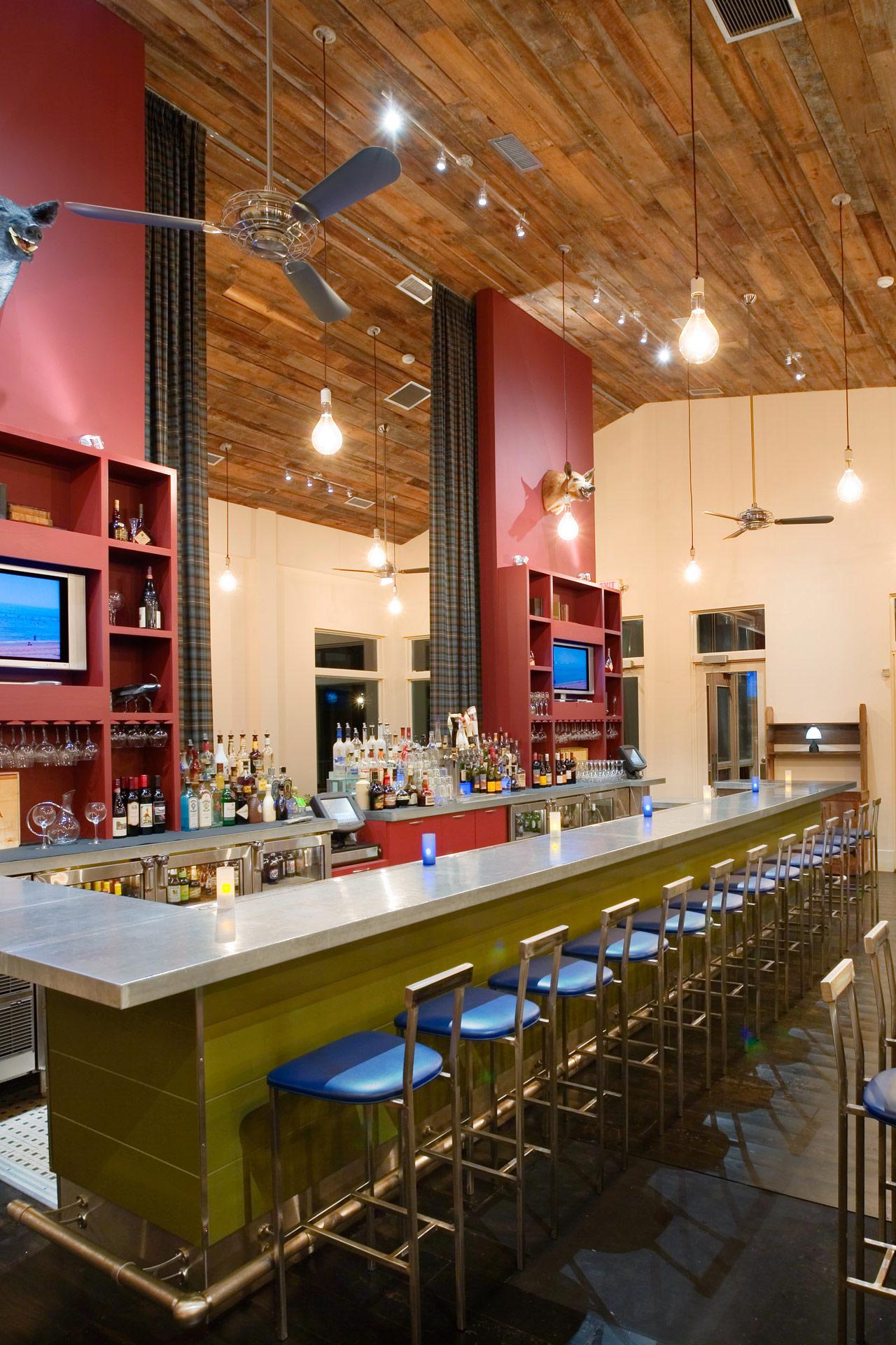 Firefly Grill restaurant modern design