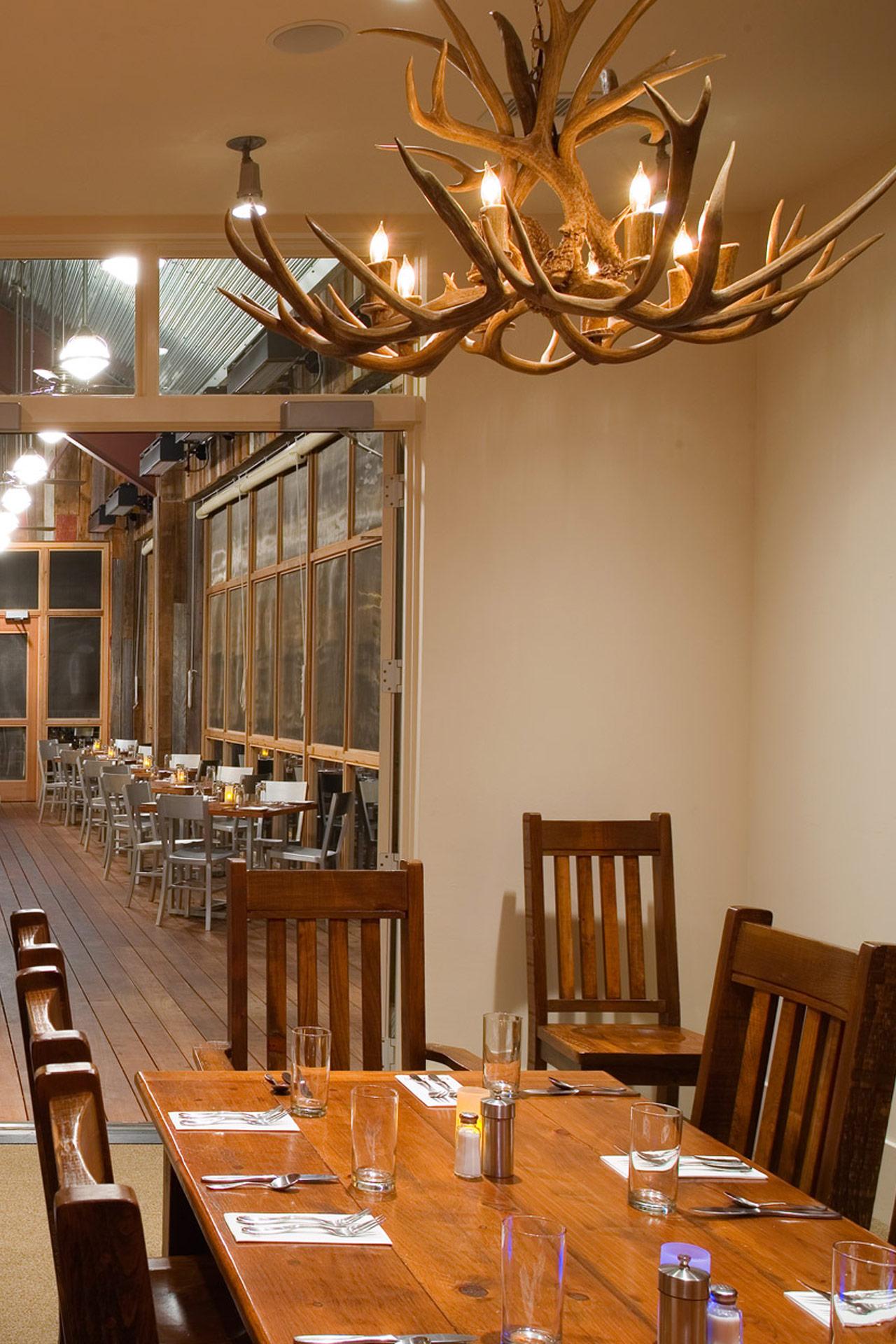 Firefly Grill restaurant interiors