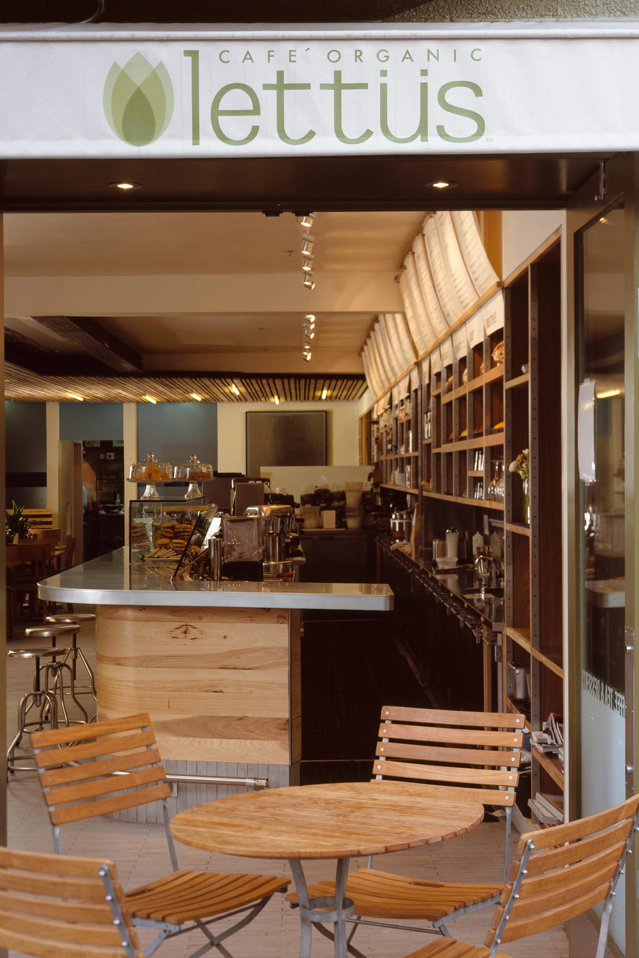 Lettus Café restaurant design