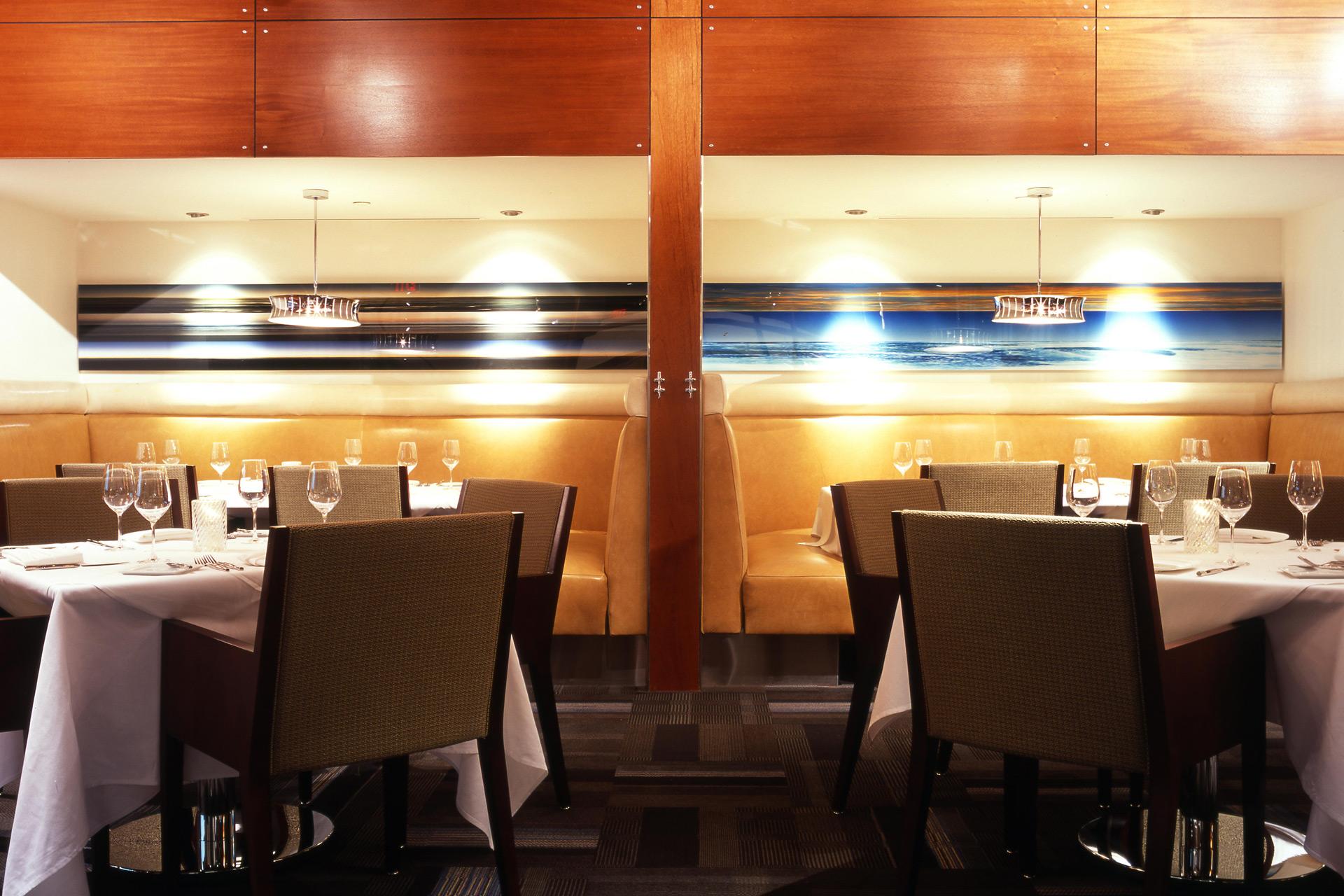 RM Seafood restaurant luxury design