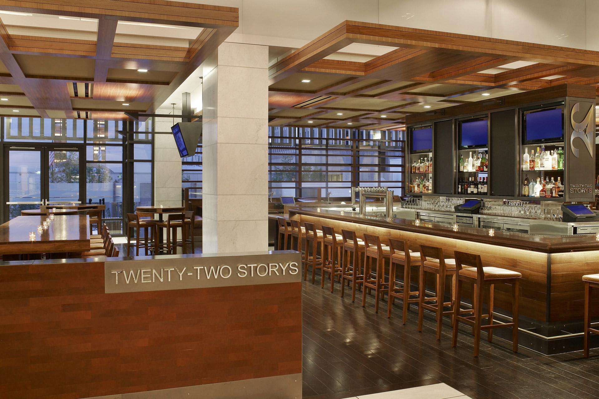 Twenty Two Storys & Market restaurant designer