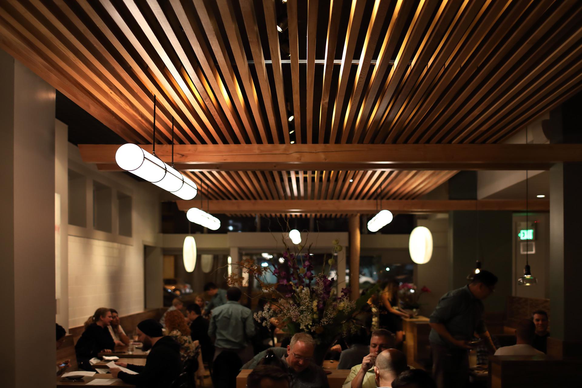 Nomica restaurant design