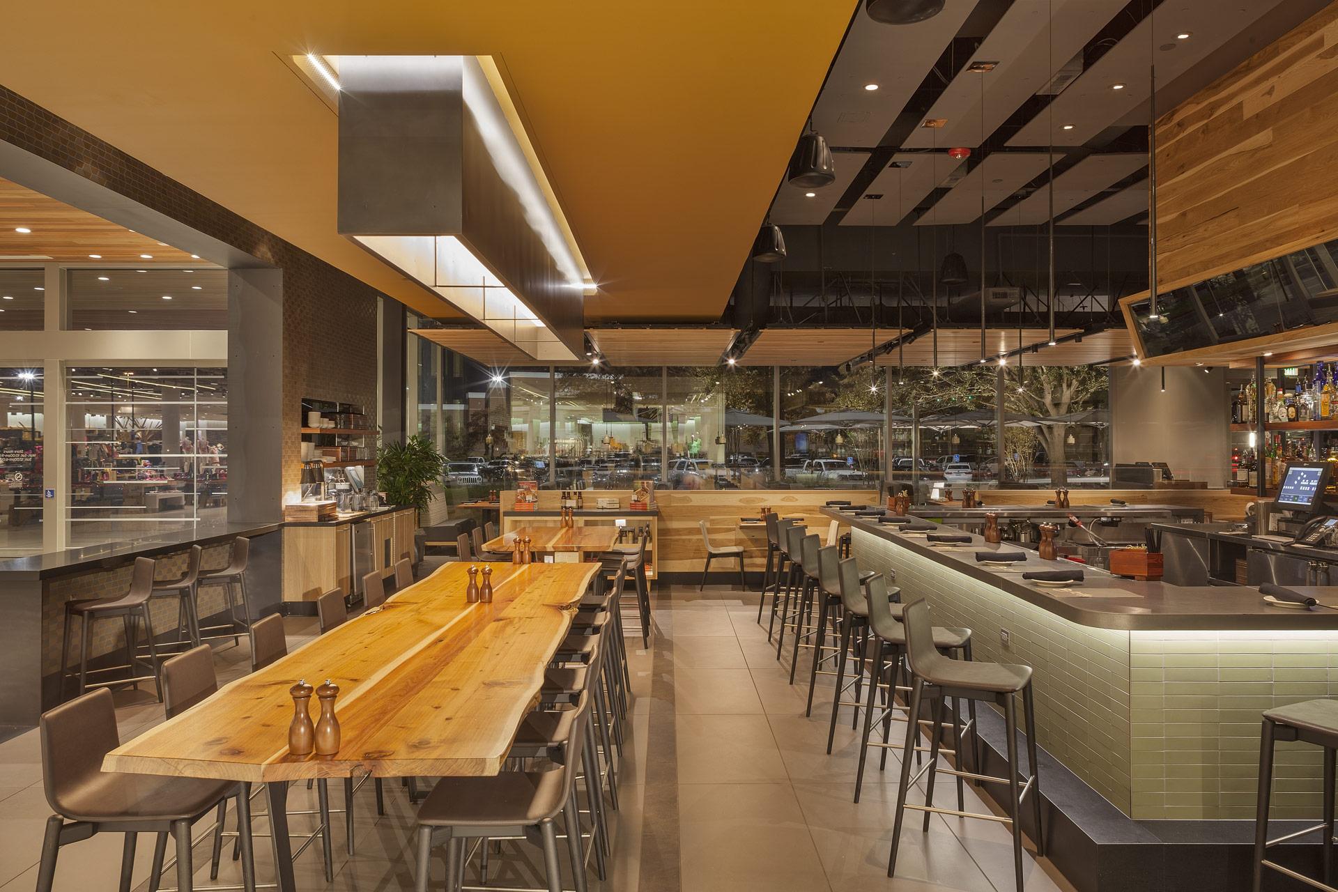 Bazille at Nordstrom Restaurant design