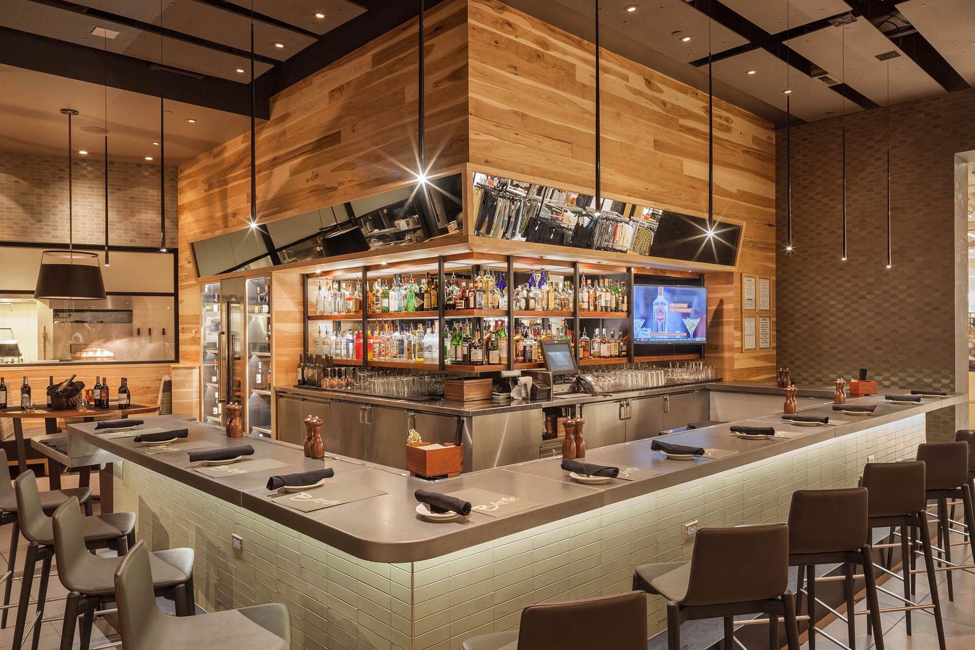 Bazille at Nordstrom Restaurant moder design