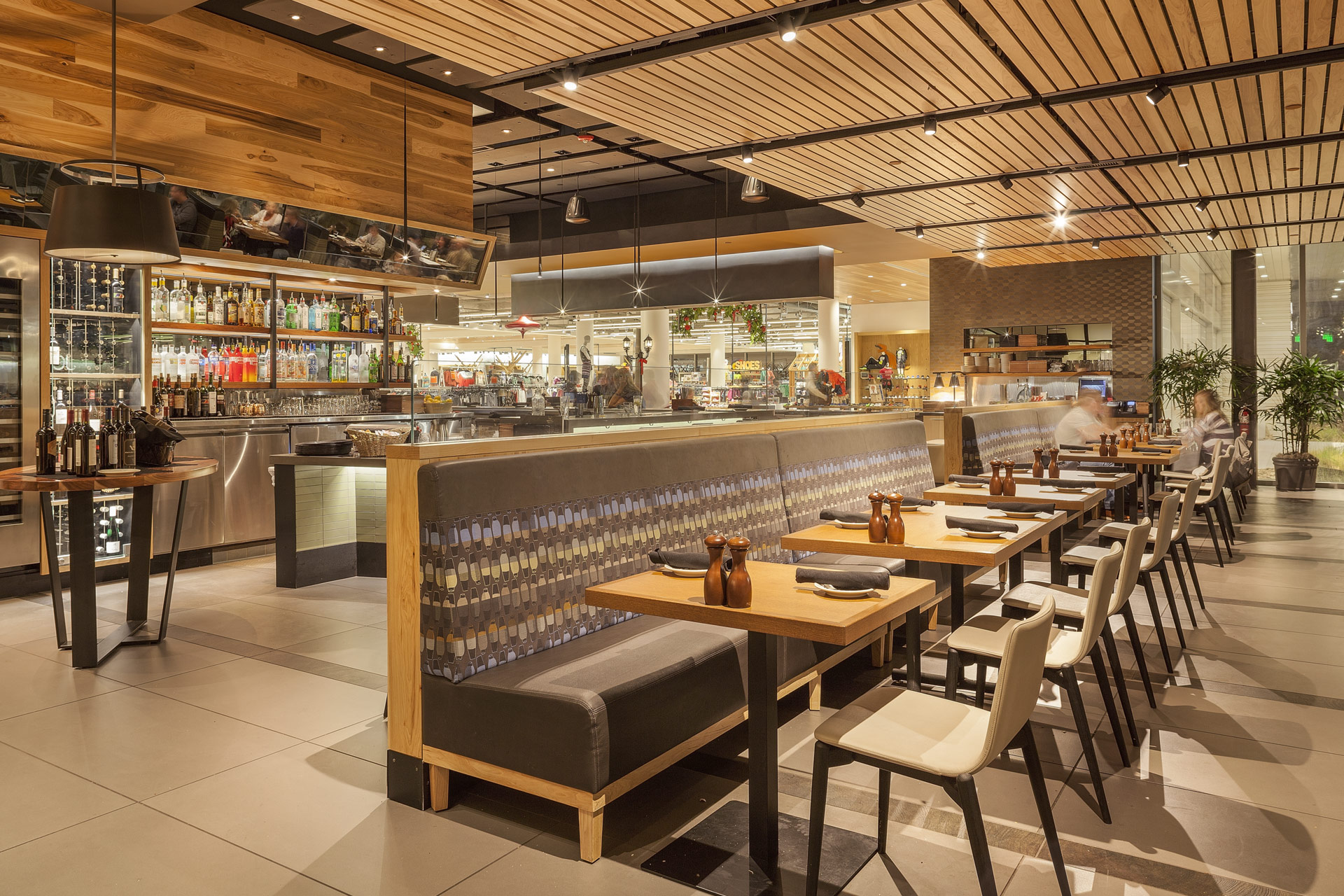 Bazille at Nordstrom Restaurant architecture