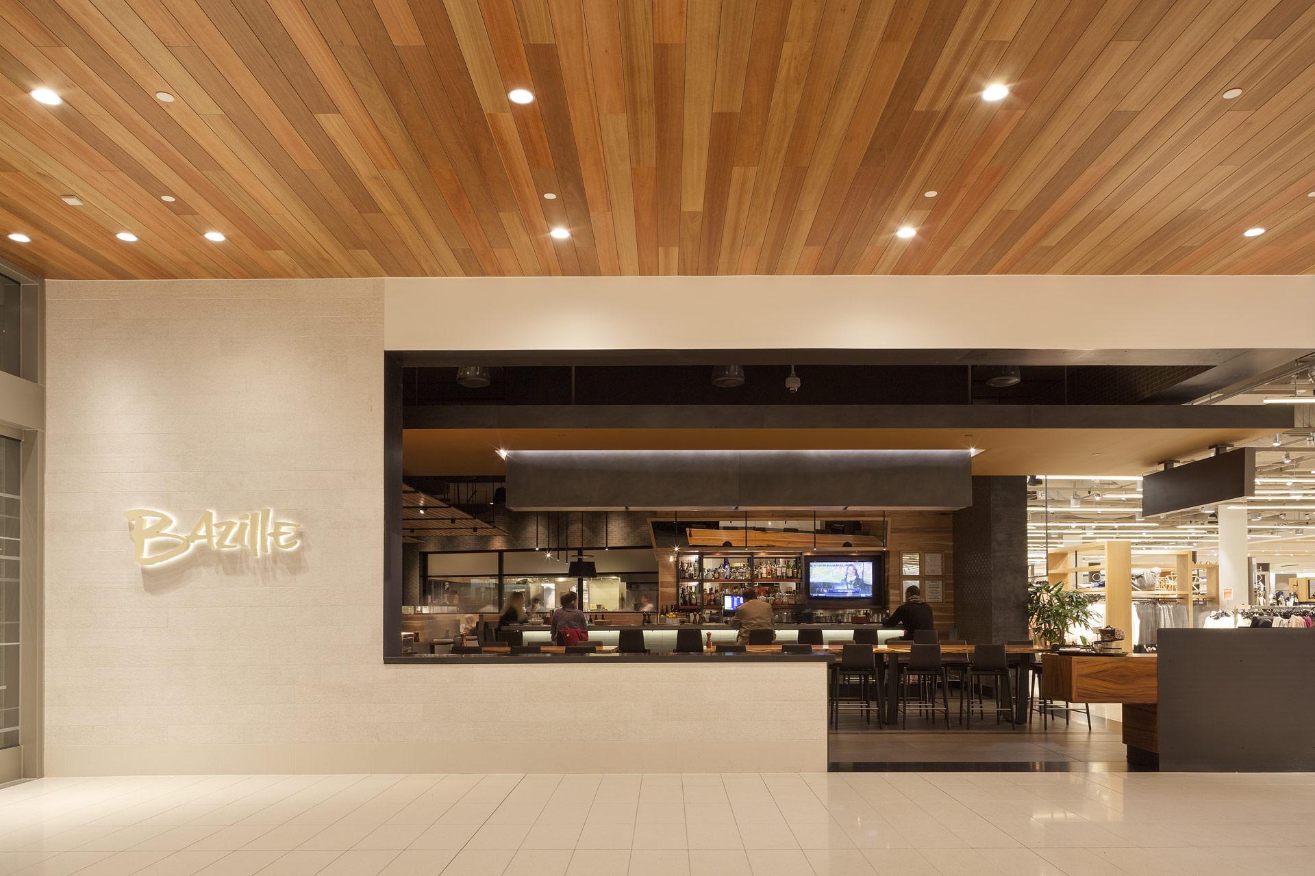 Bazille at Nordstrom Restaurant architect
