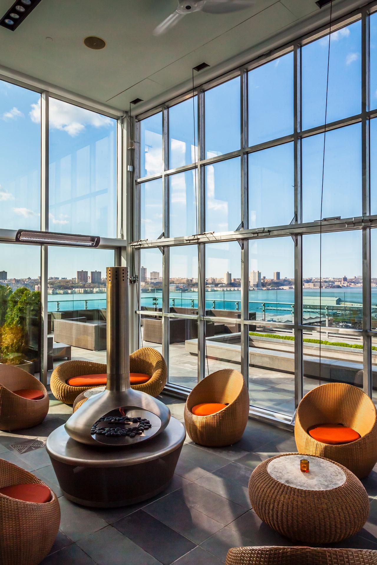 Press Lounge Restaurant design