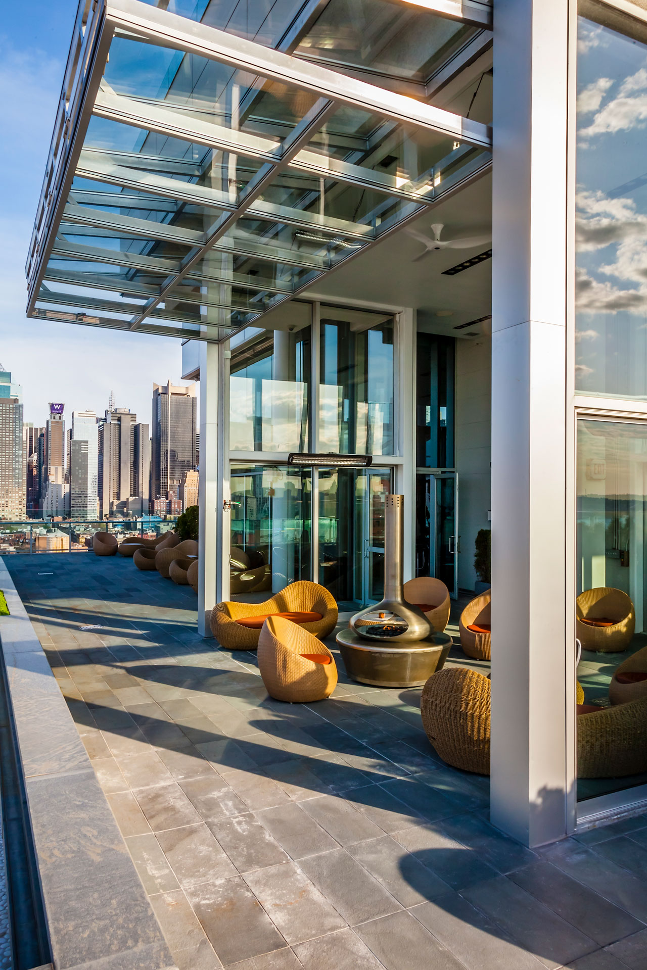 Press Lounge Restaurant interiors