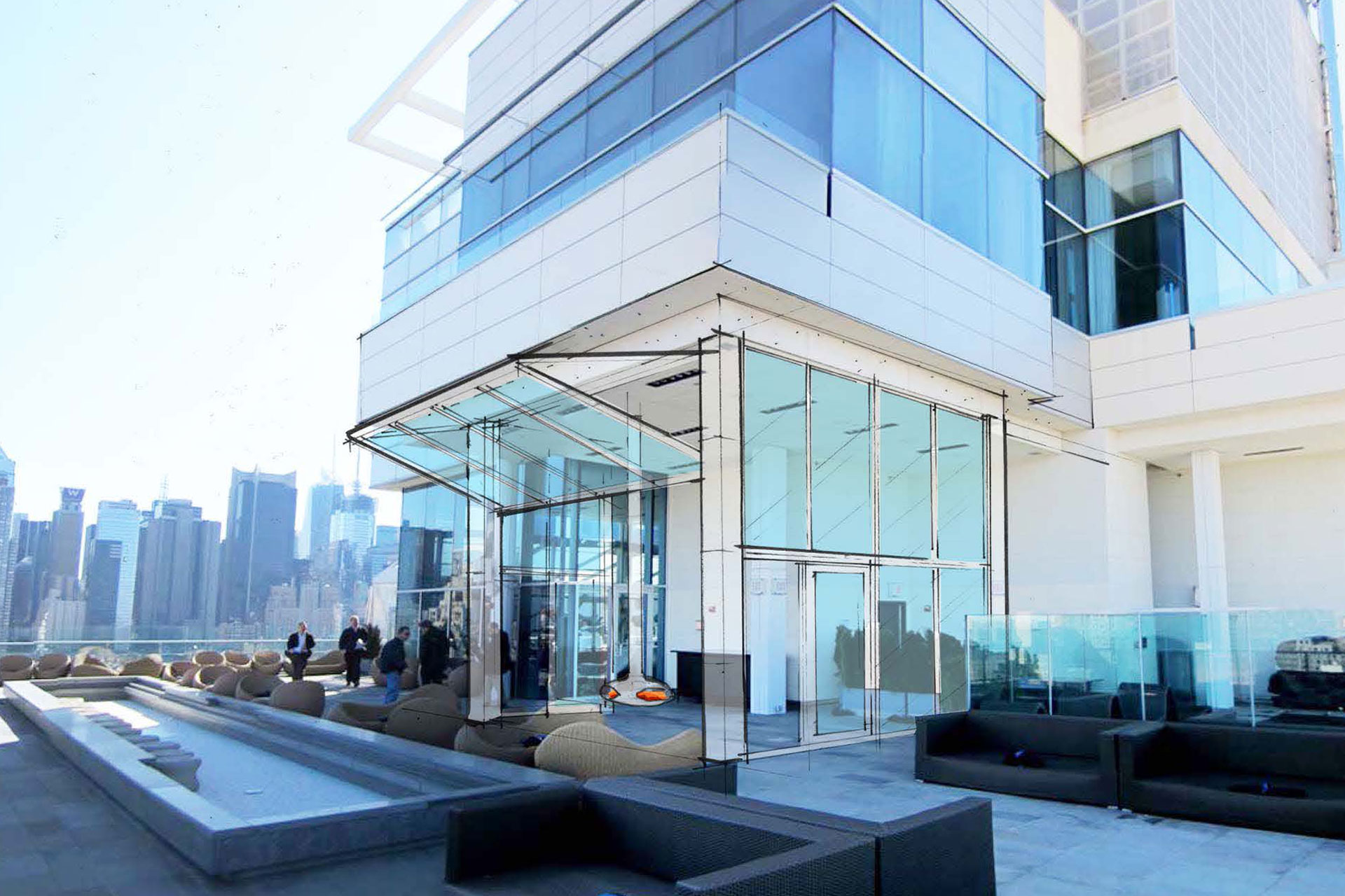 Press Lounge Restaurant modern design