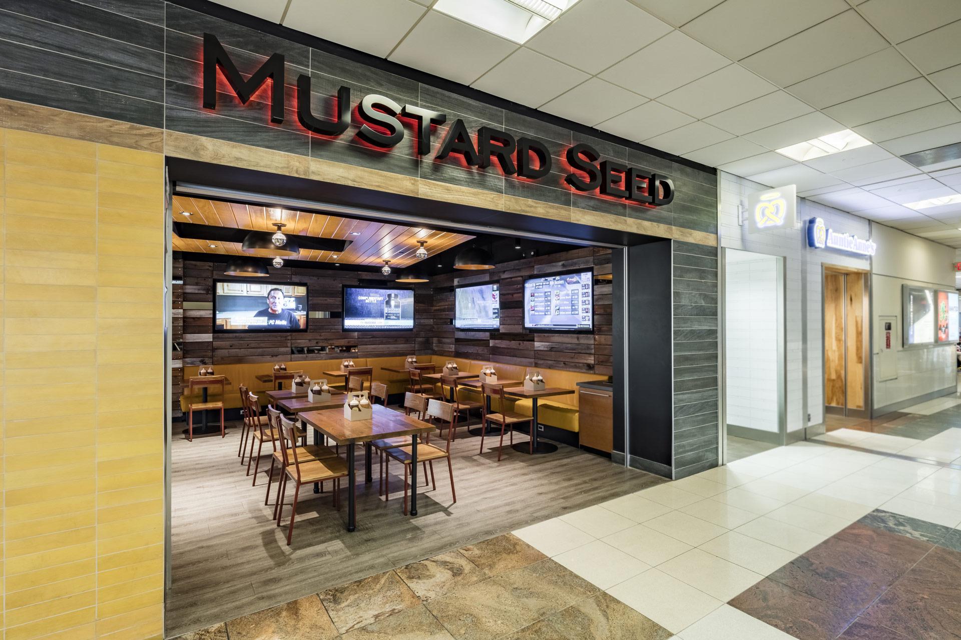 Mustard Seed restaurant modern design