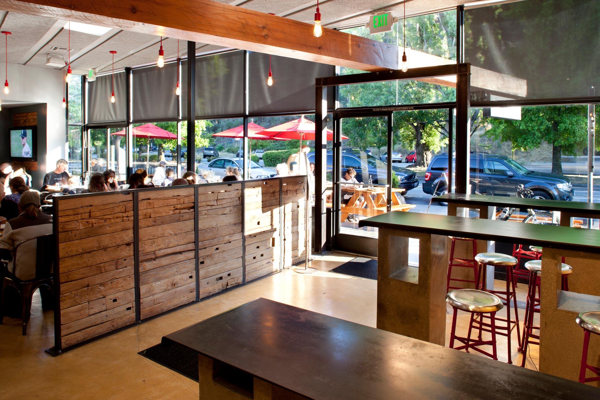 Tamalpie restaurant design