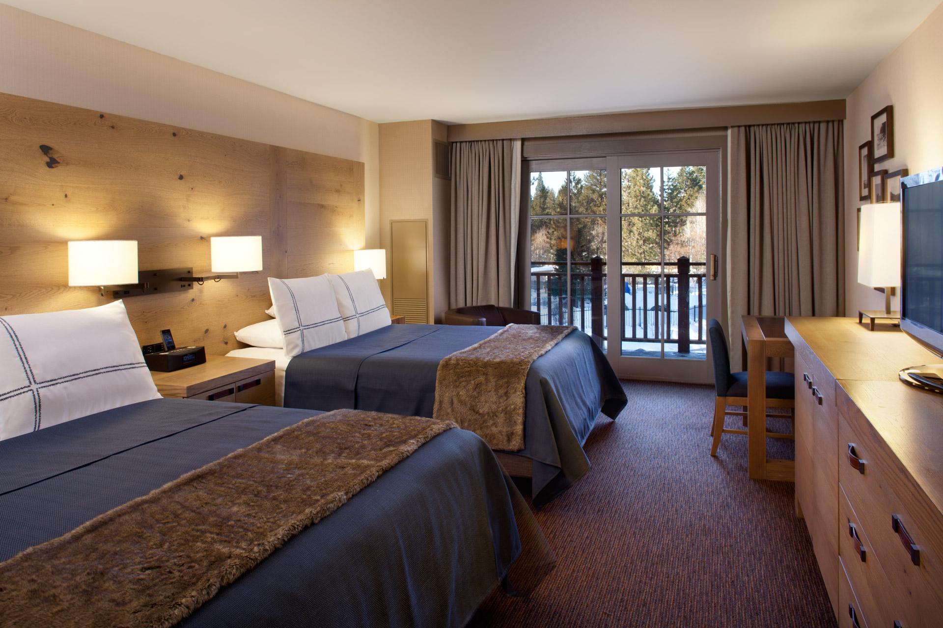 Hyatt Lake Tahoe Guestrooms interiors