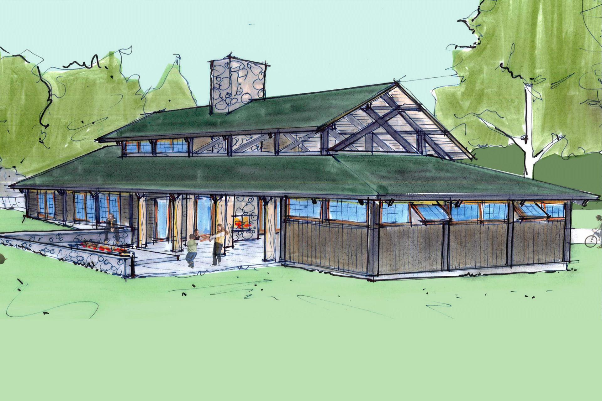Private Club studio design