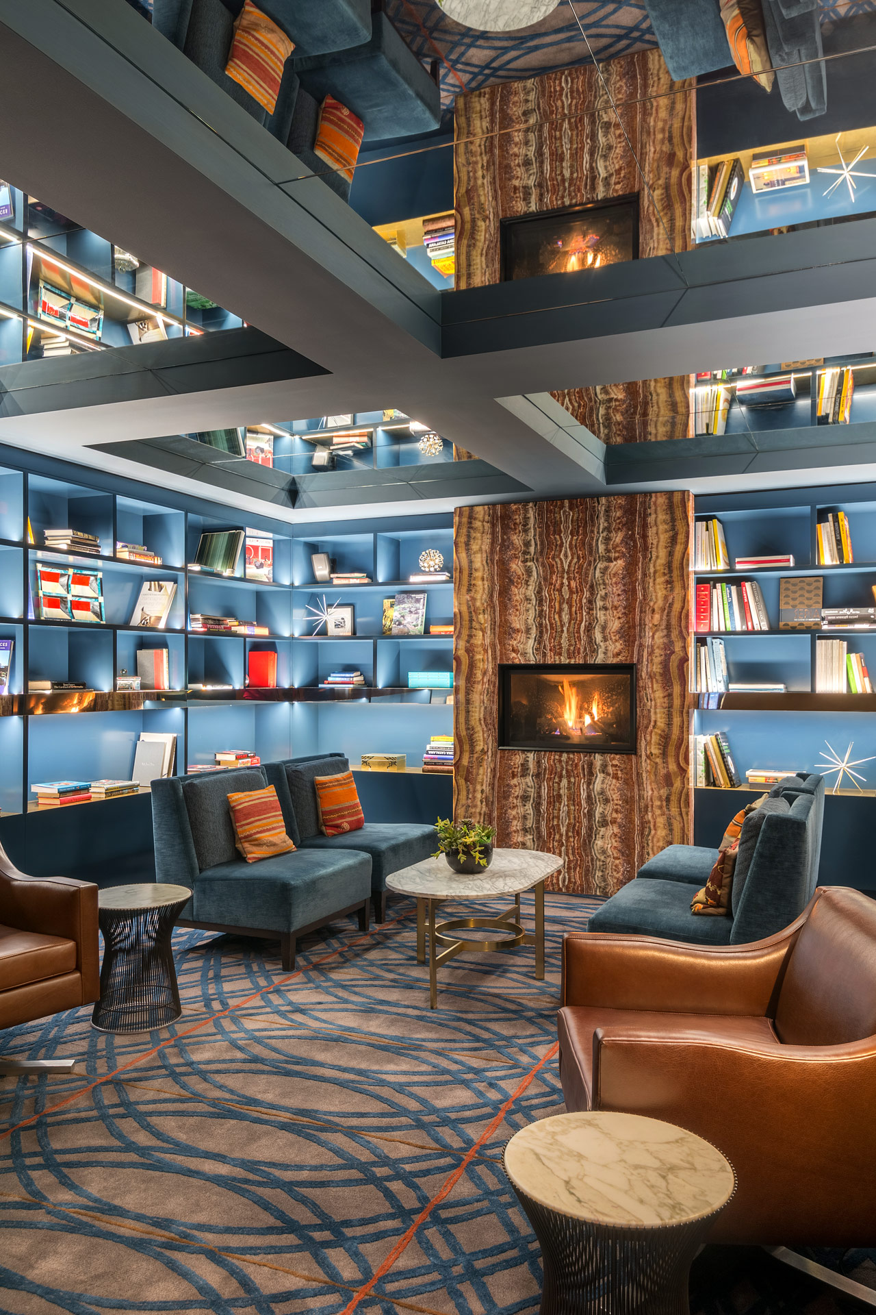 Park South Hotel interiors design