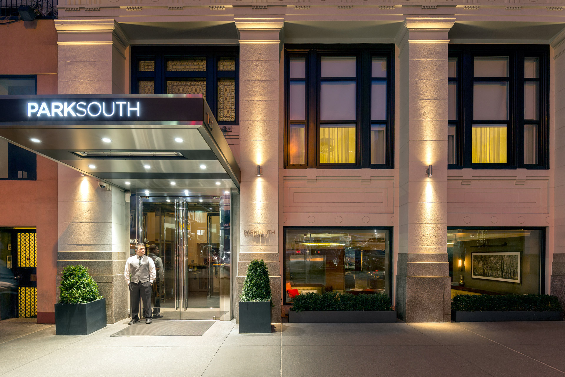 Park South Hotel modern design