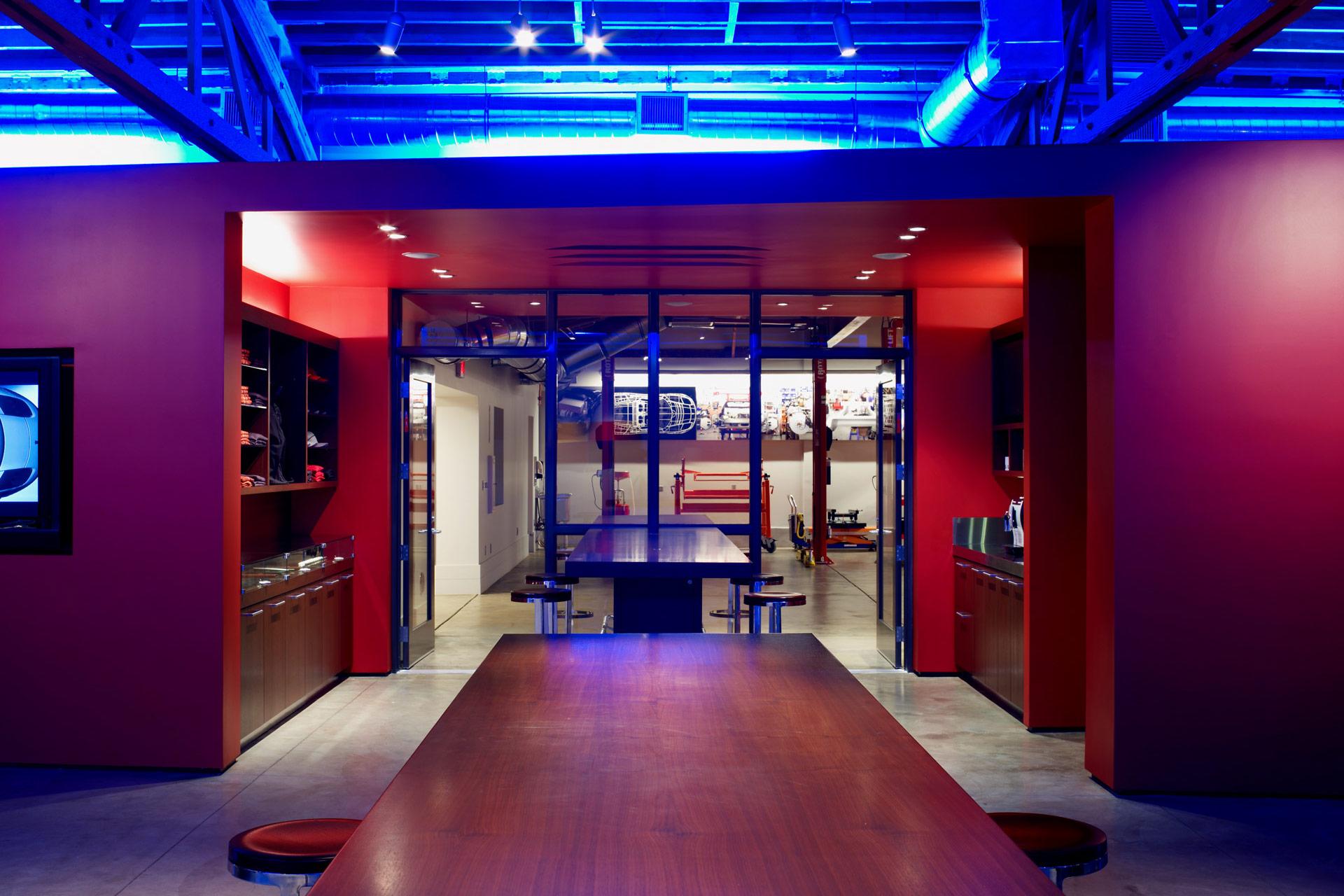 Tesla Showroom retail store design ideas