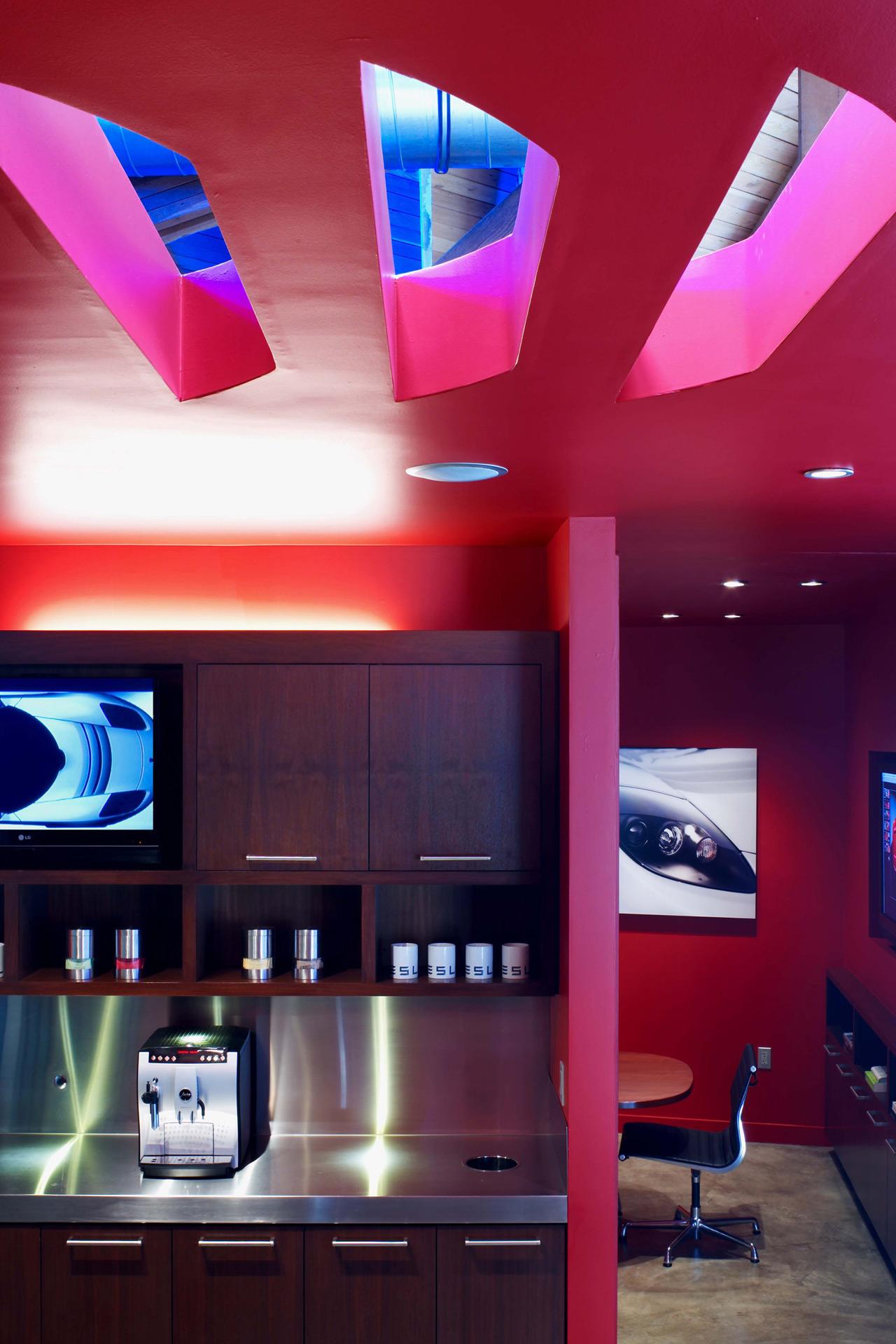 Tesla Showroom retail store designer near me