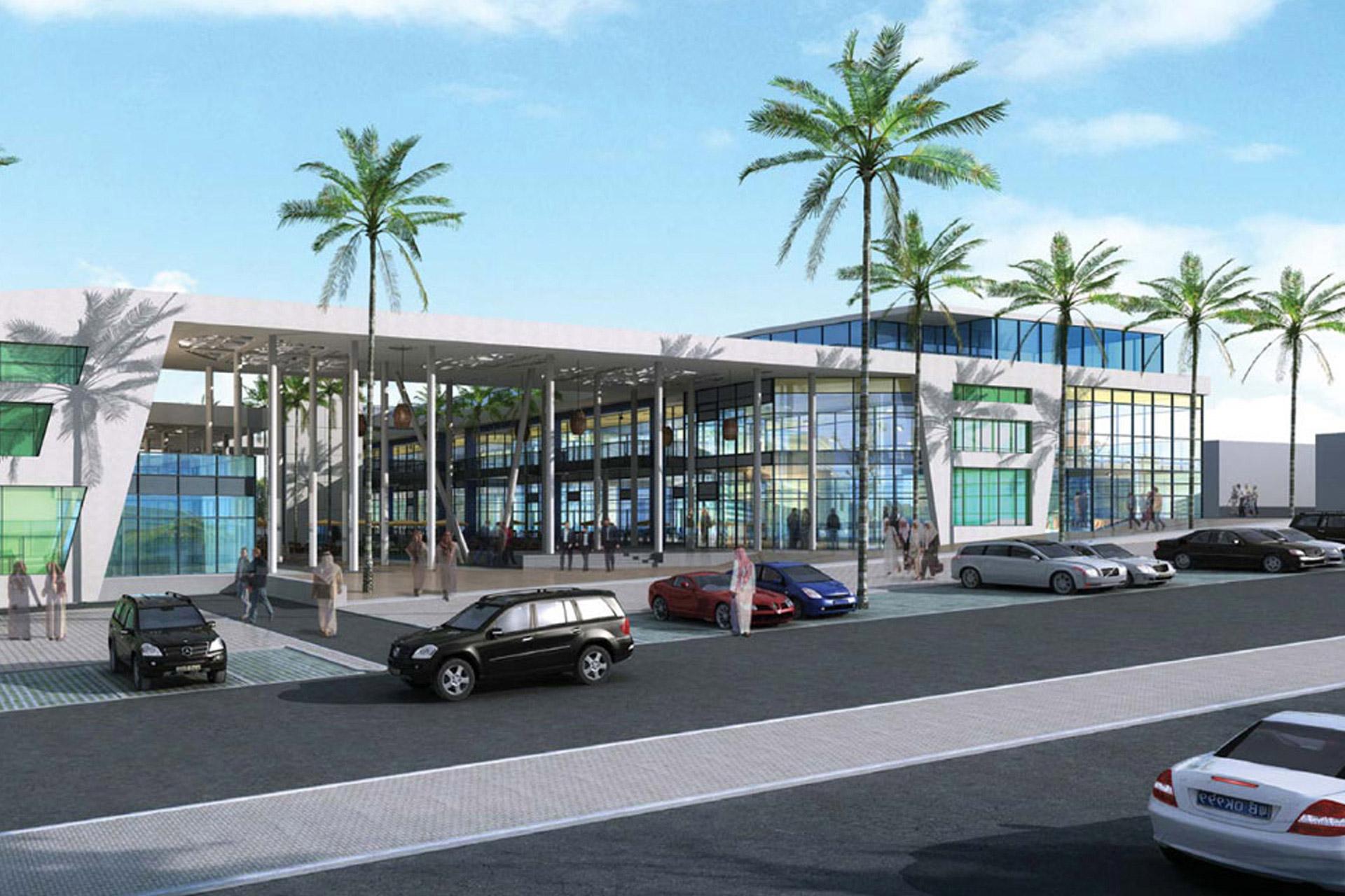 Taawon Mall design