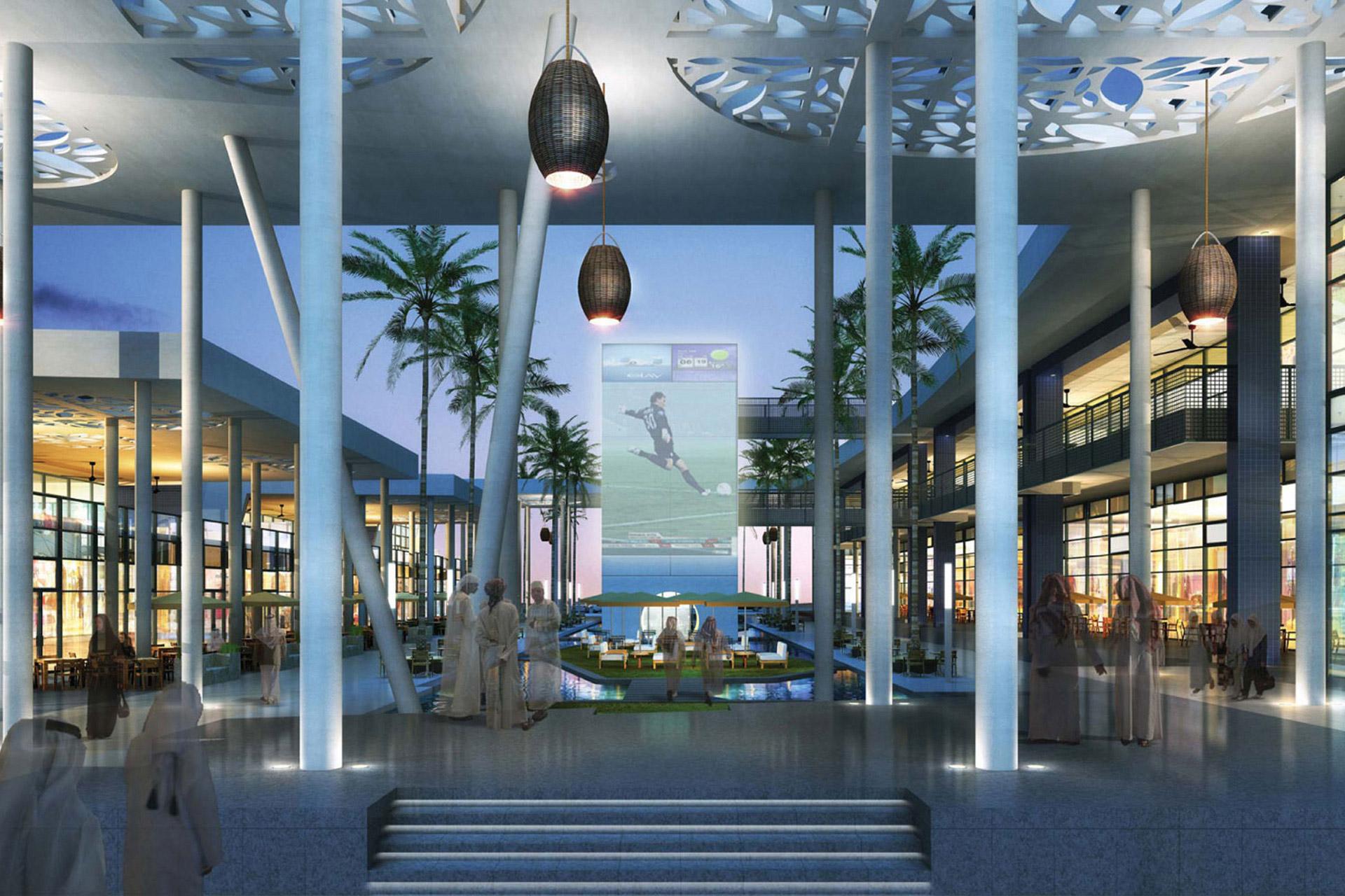 Taawon Mall decor